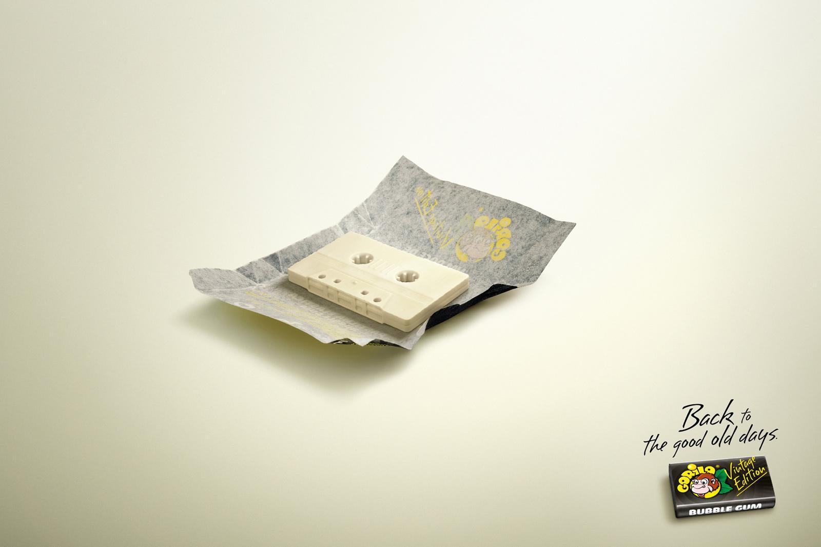Gorila Print Ad -  Tape