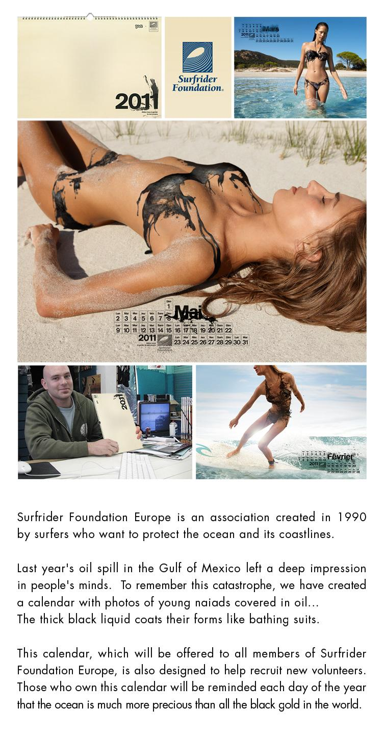 Surfrider Foundation Direct Ad -  2011 Calendar