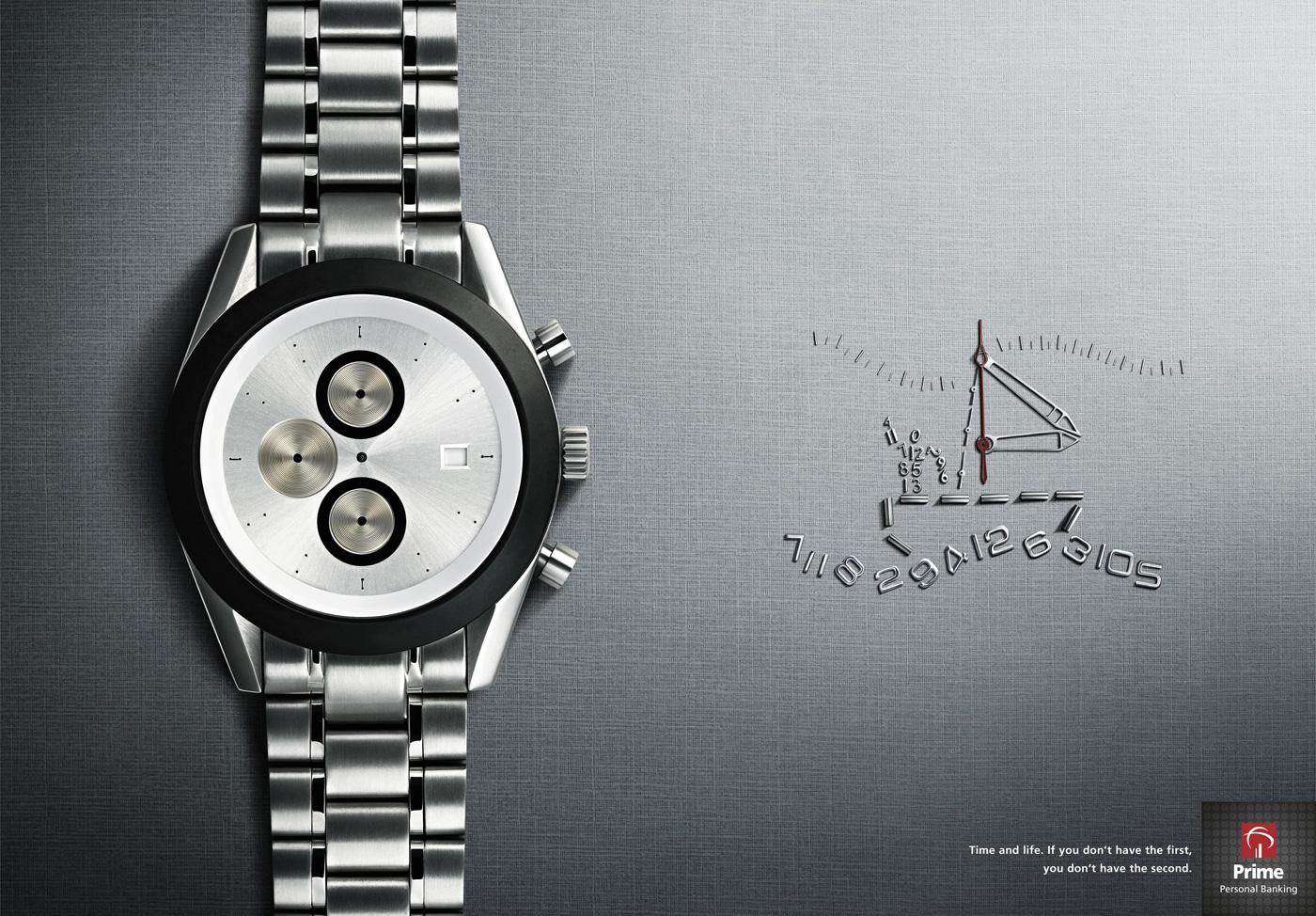 Prime Personal Banking Print Ad -  Watch, 5