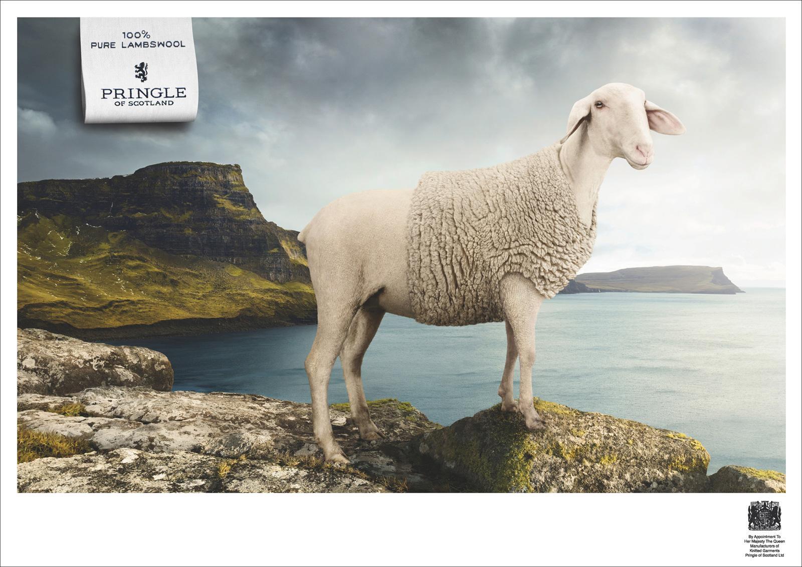 Pringle of Scotland Print Ad -  Sea