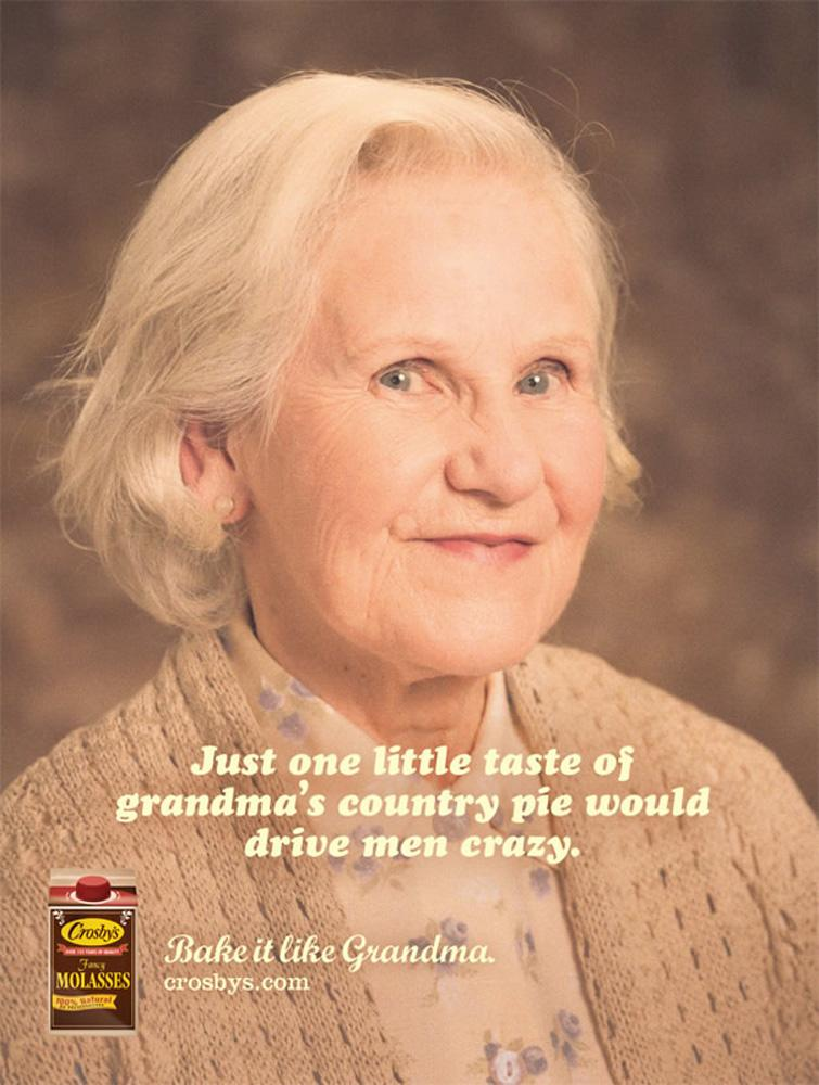 Crosby's Print Ad -  Grandma's Country Pie