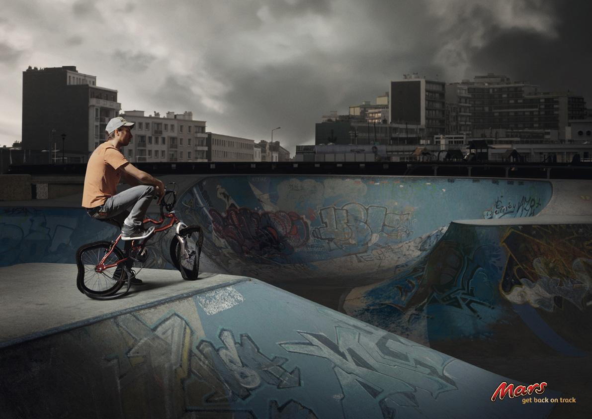 Mars Print Ad -  BMX