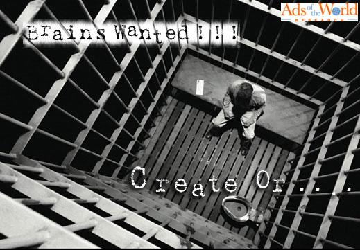 Ads of the World Print Ad -  Prison