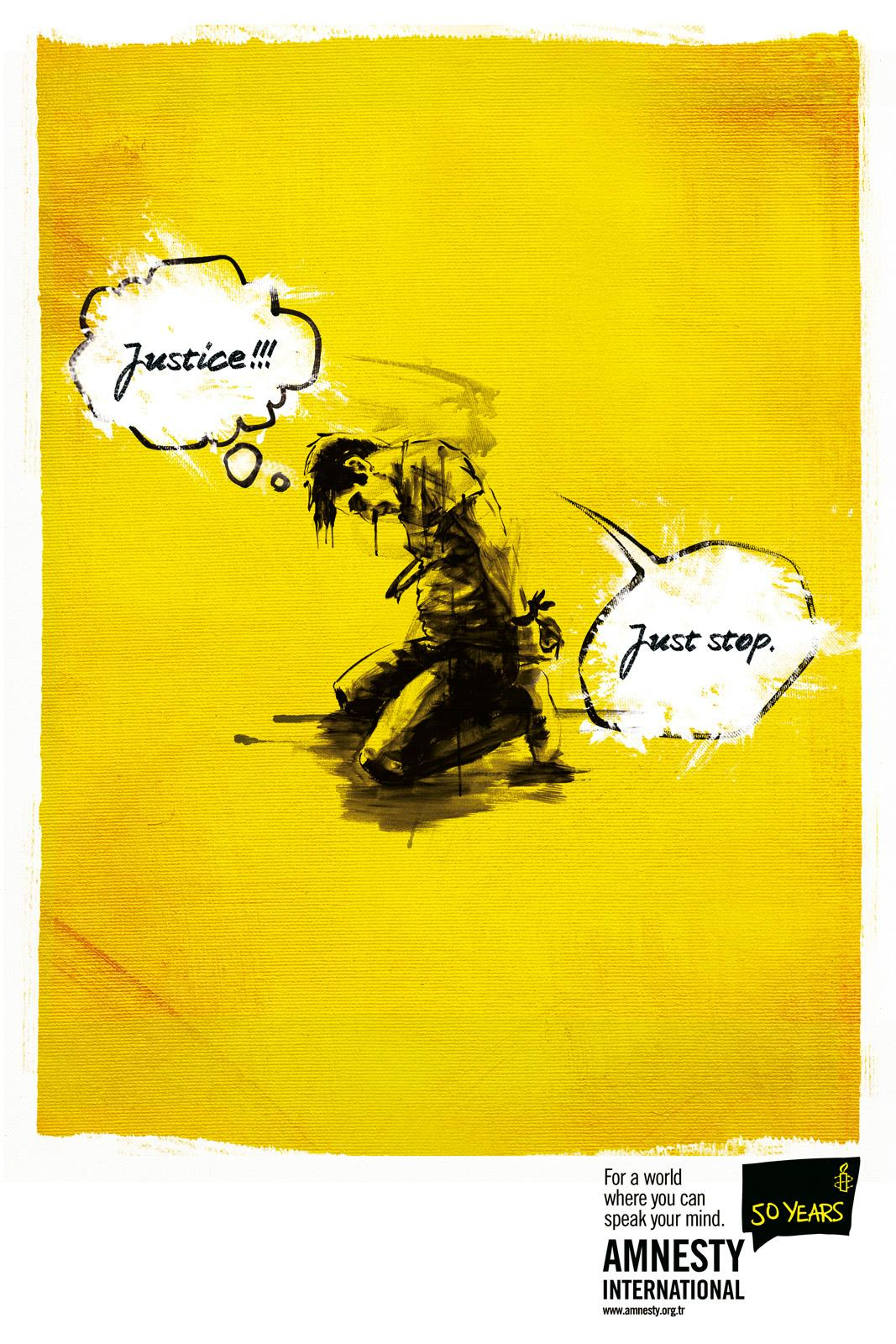 Amnesty International Print Ad -  Prisoner