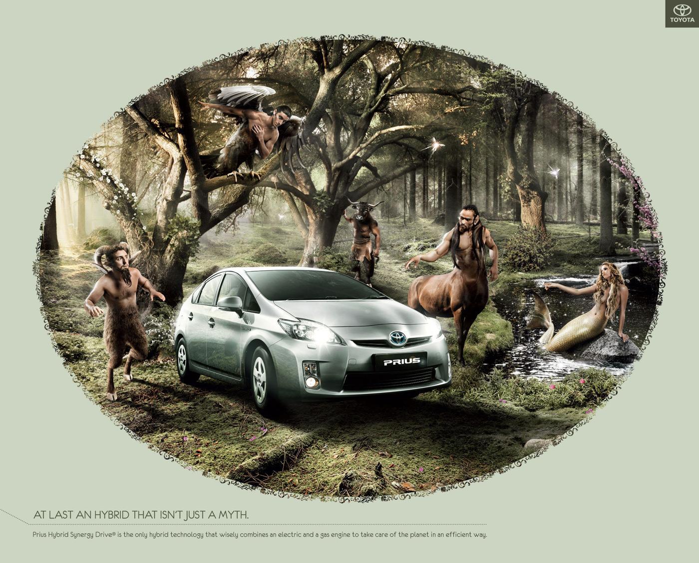 Toyota Print Ad -  Myth