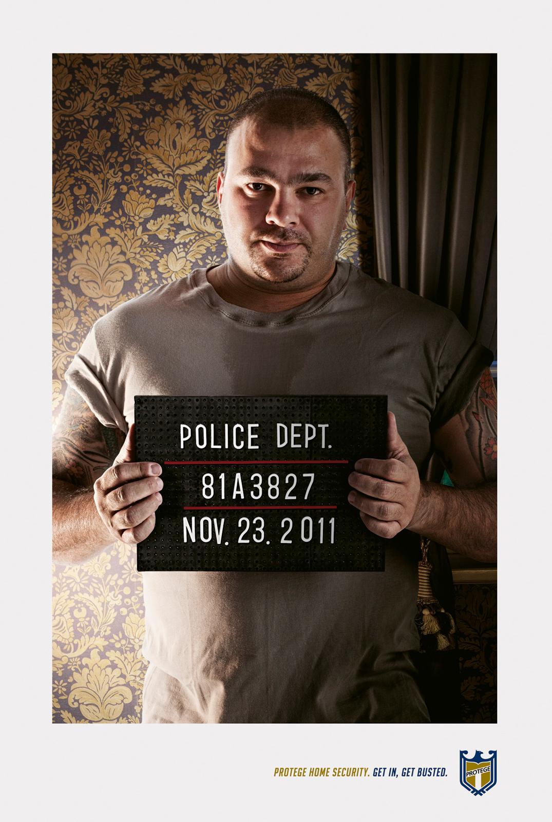 Protege Group Print Ad -  Burglars, 2