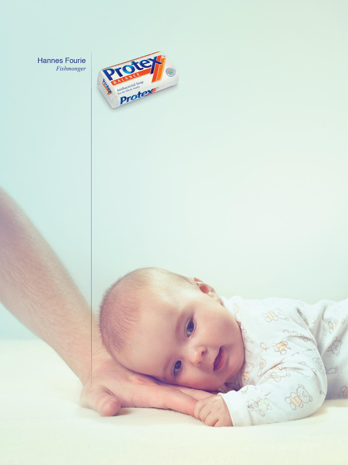 Protex Print Ad -  Baby