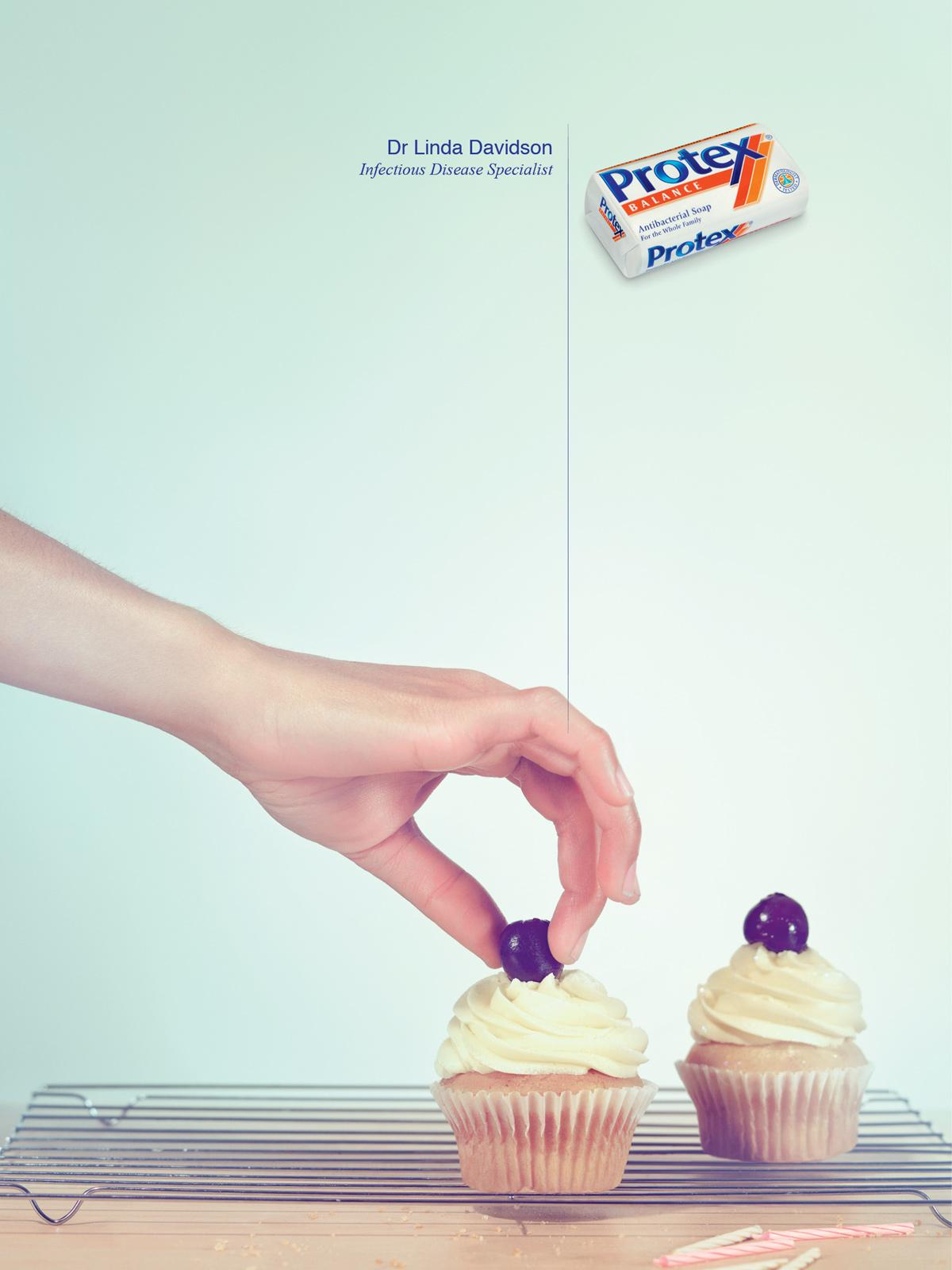 Protex Print Ad -  Cupcake