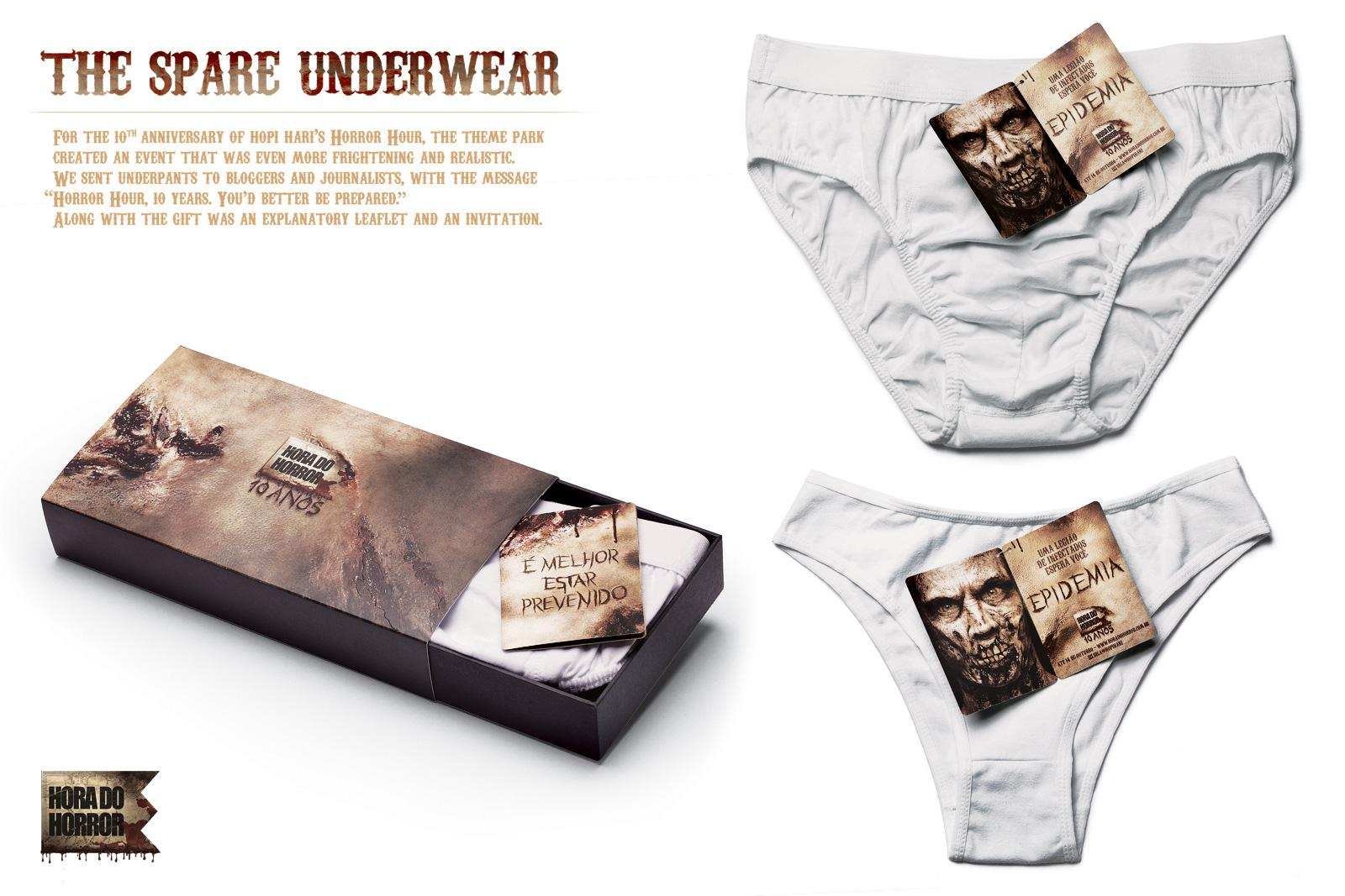Hopi Hari Theme Park Direct Ad -  The Spare Underwear