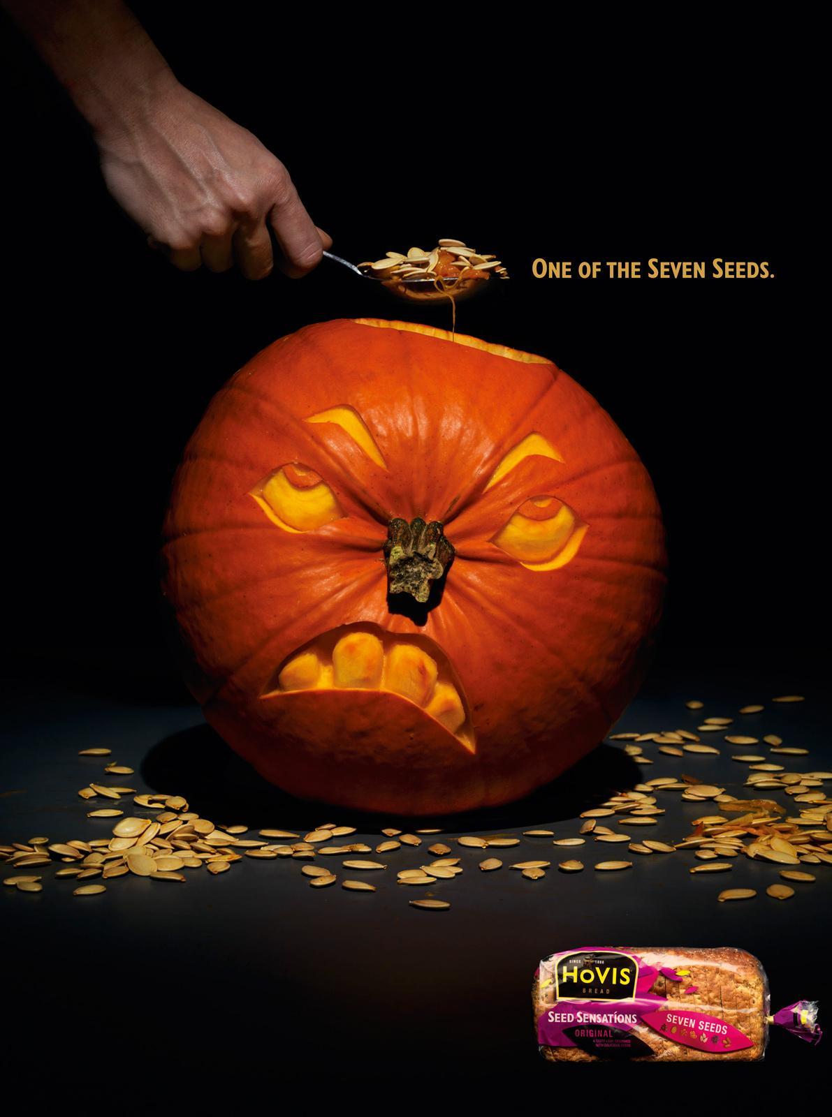 Hovis Print Ad -  Pumpkin