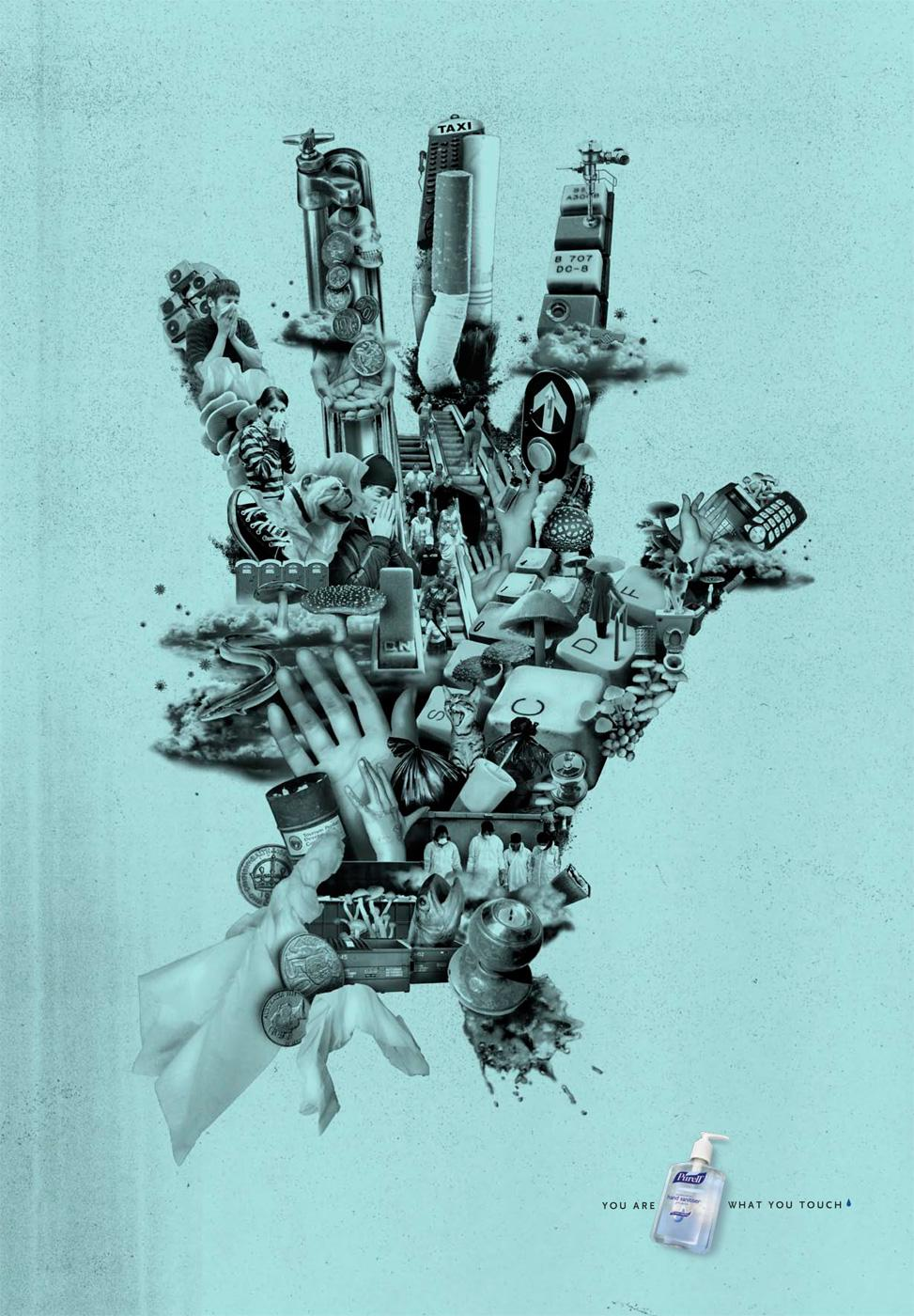 Purell Print Ad -  You are what you touch, 3