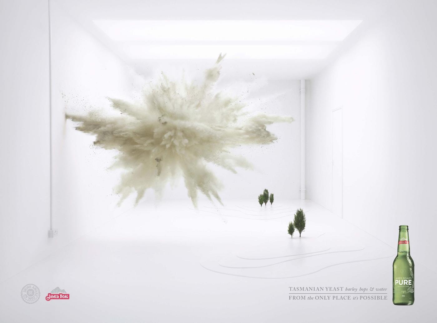 James Boag Print Ad -  Explosion, 2