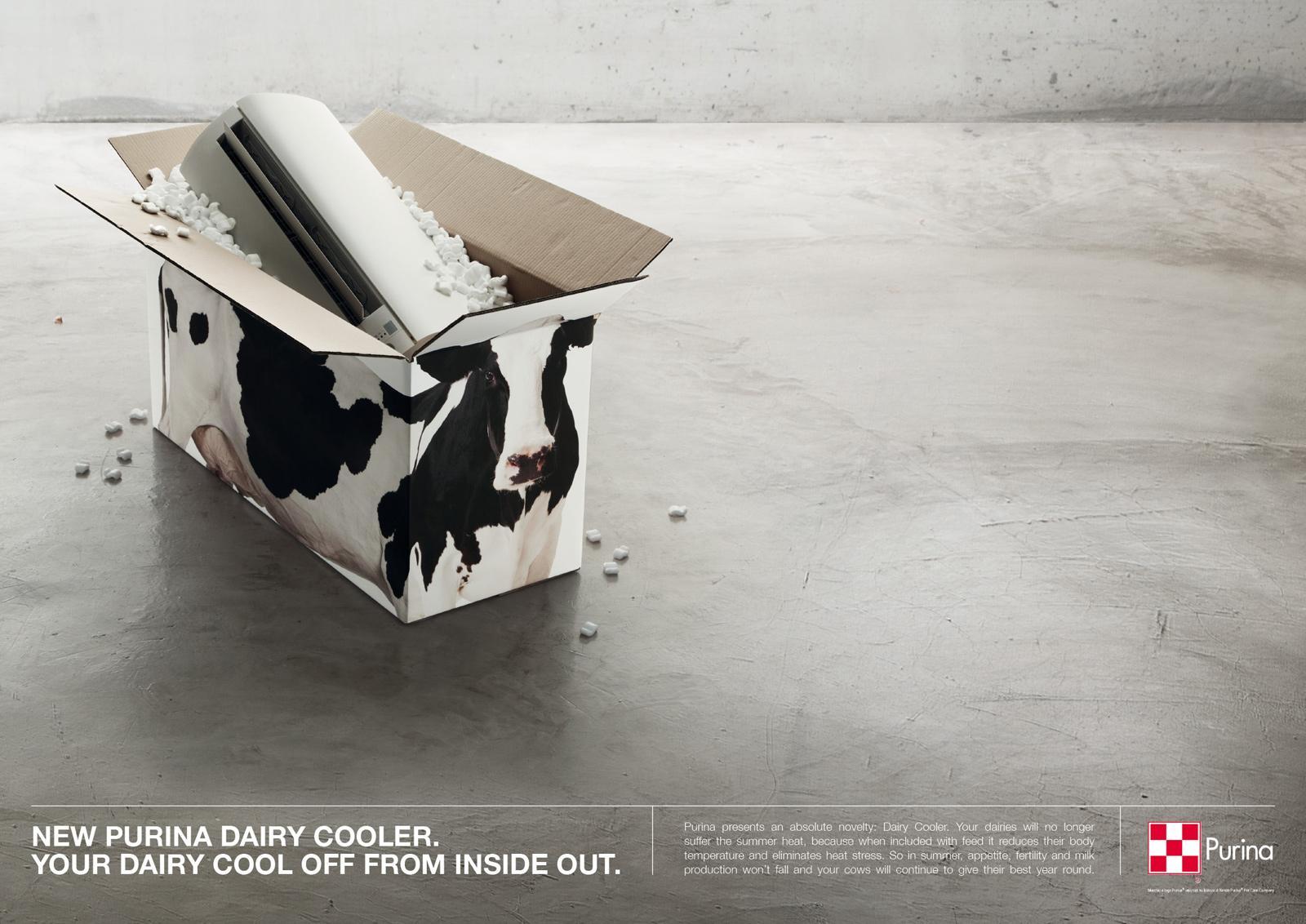 Purina Print Ad -  Daiary Cooler