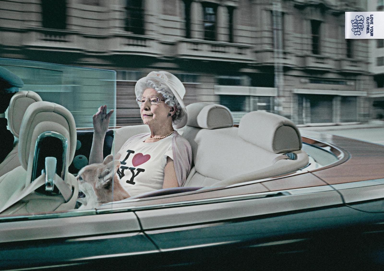 Colgate Palmolive Print Ad -  Queen