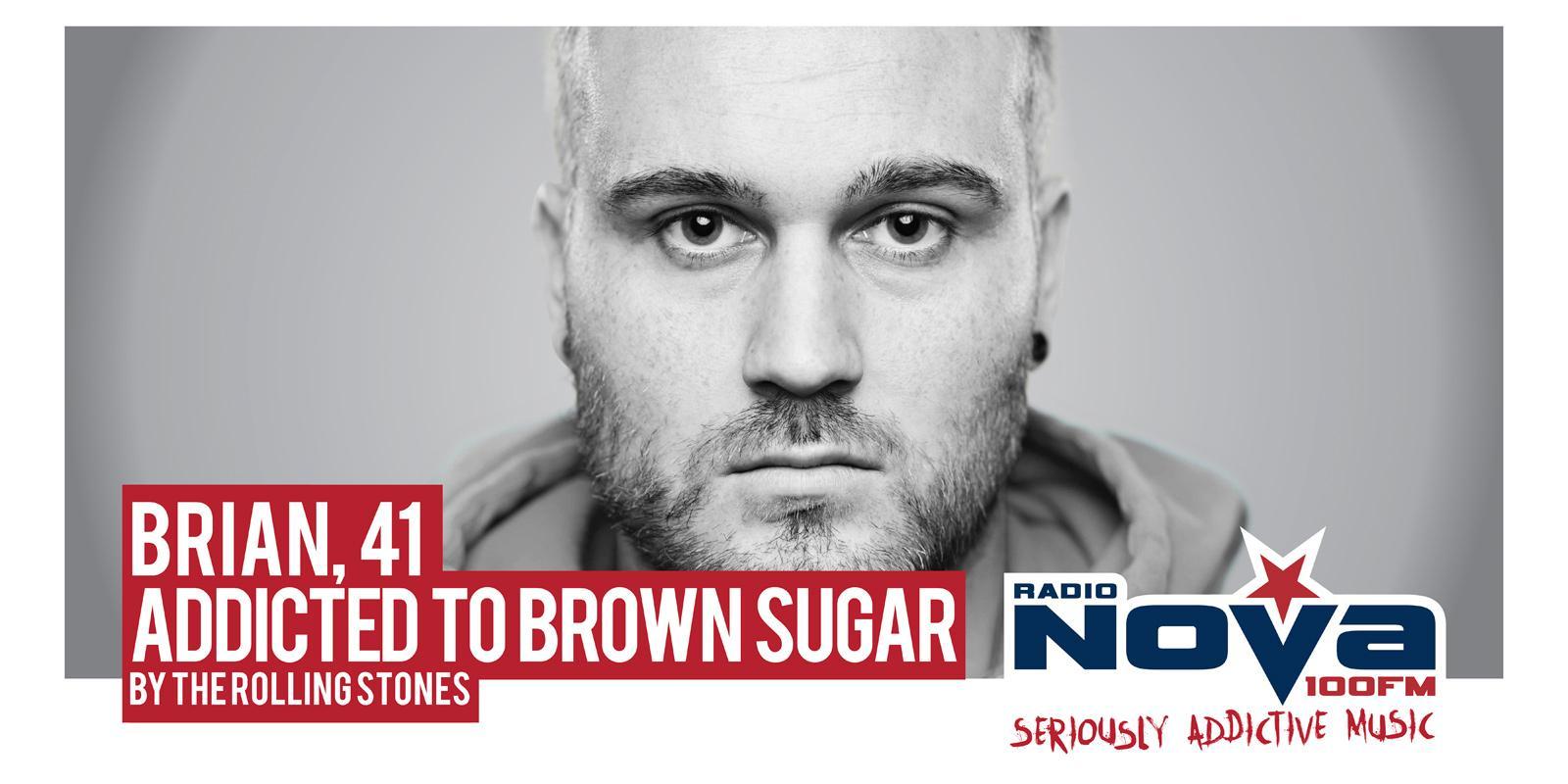 Radio Nova Outdoor Ad -  Brown Sugar