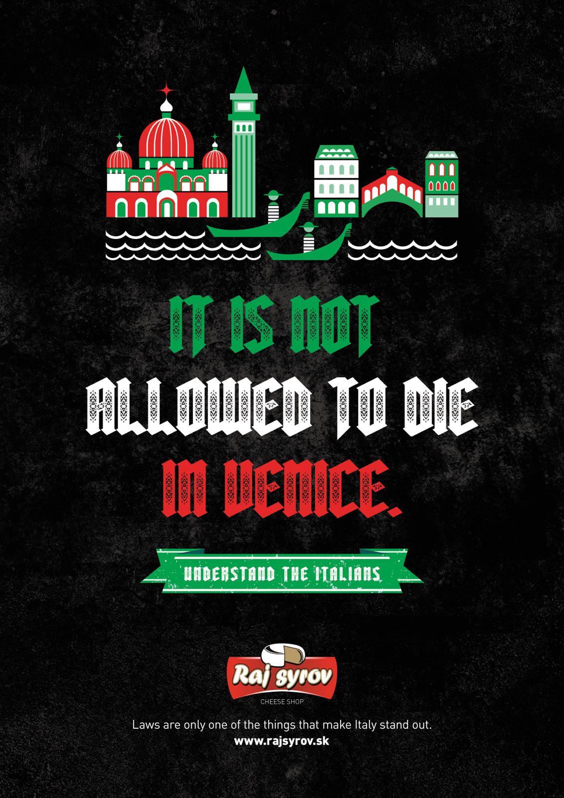 Raj Syrov Print Ad -  Italians