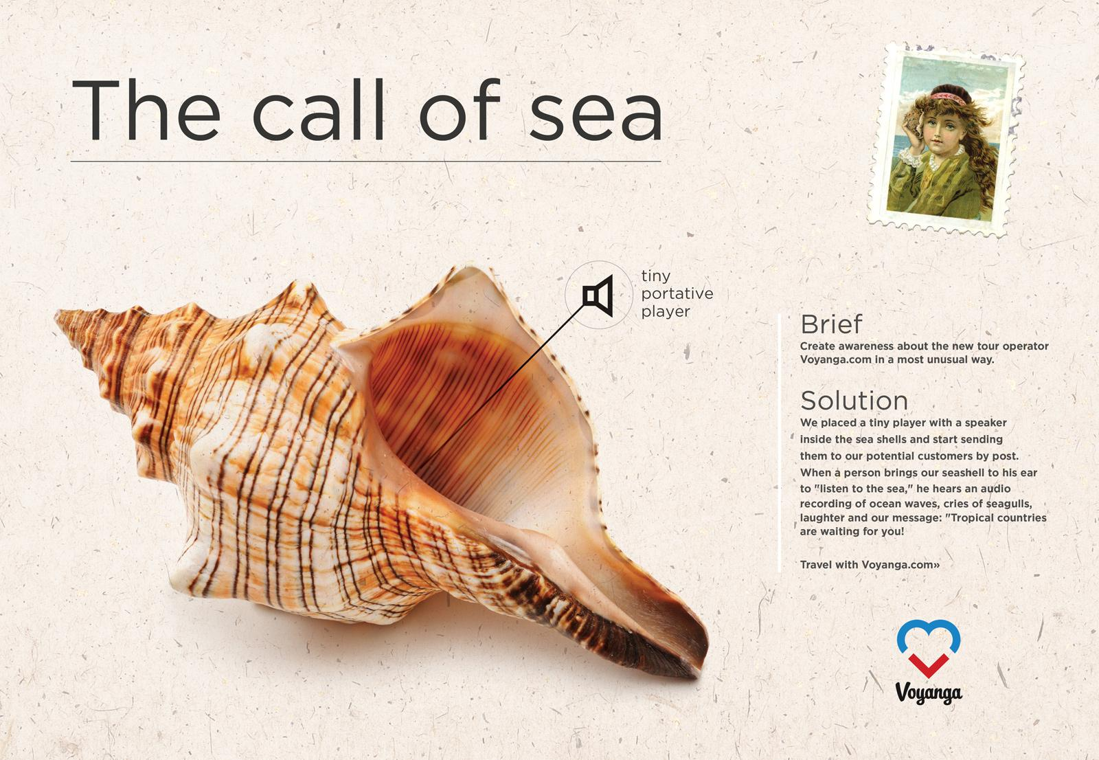 Voyanga Direct Ad -  The call of sea