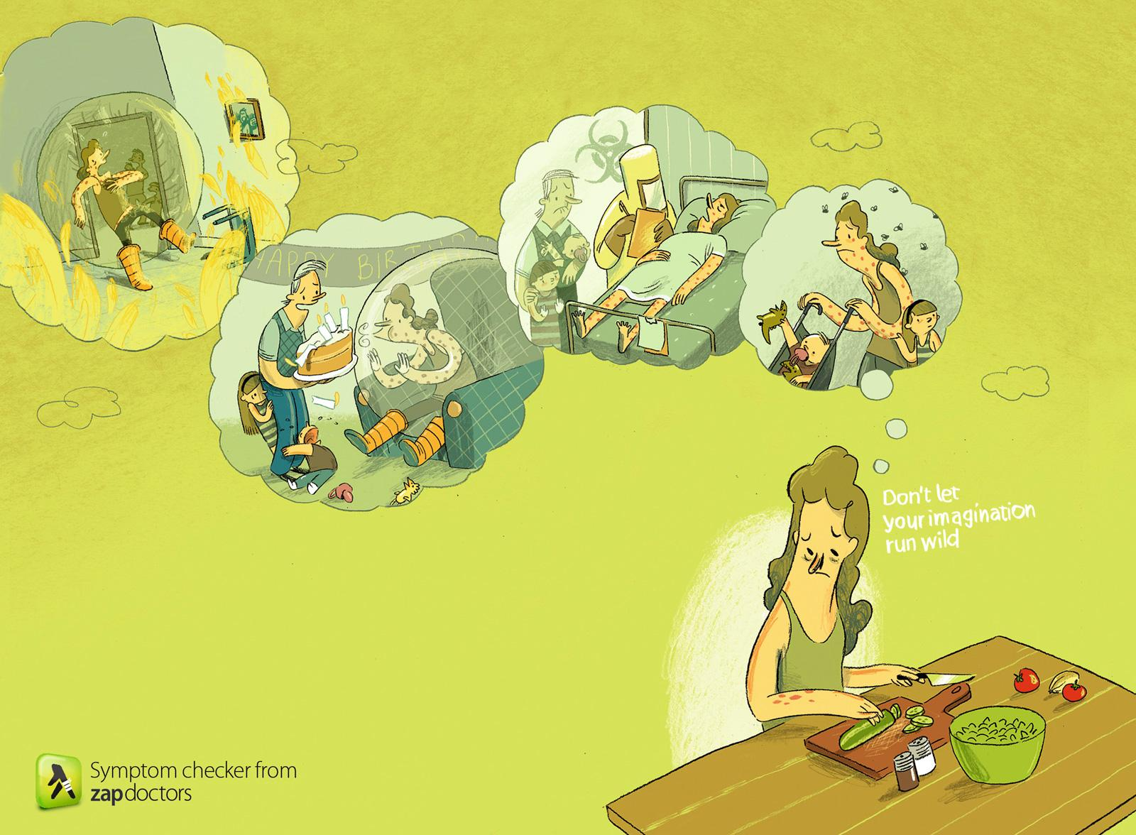 Zap doctors Print Ad -  Rash