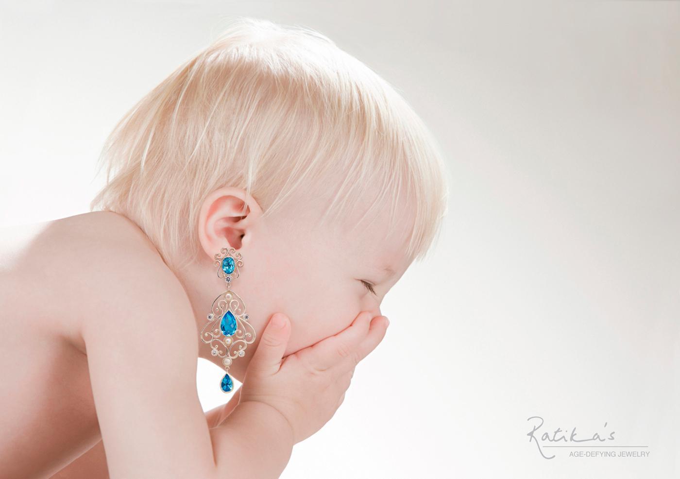 Ratika's Print Ad -  Age-defying jewelry