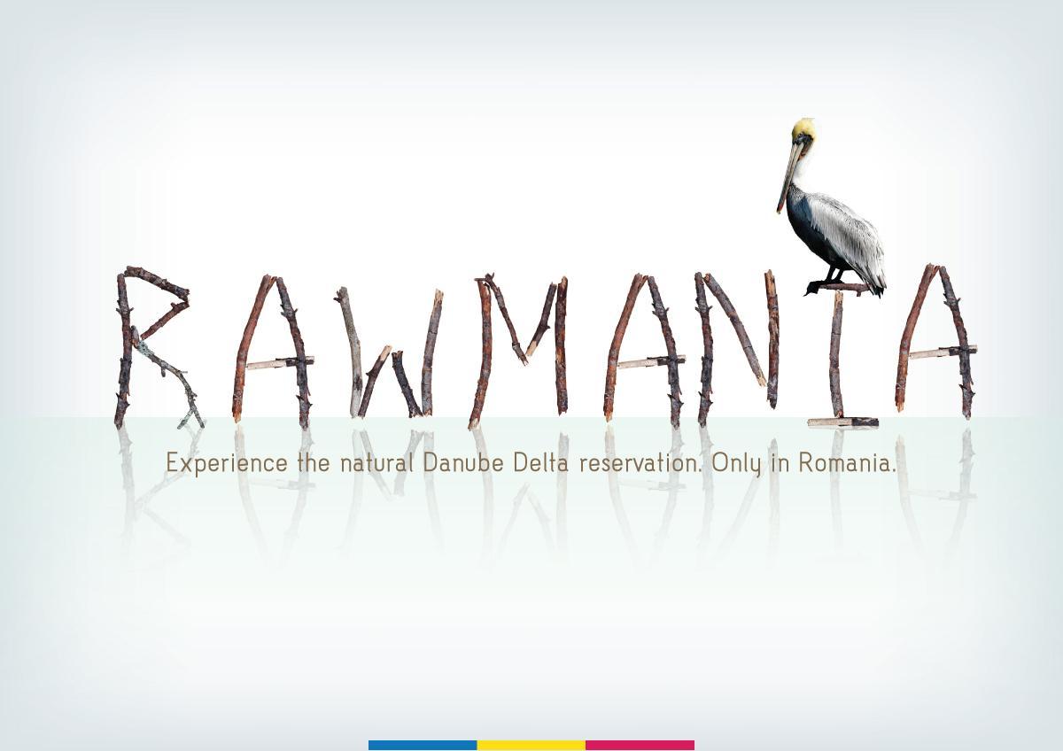 Romania Print Ad -  Rawmania
