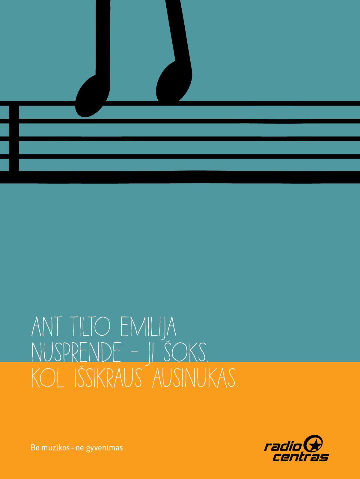 RadioCentras Print Ad -  Emilija