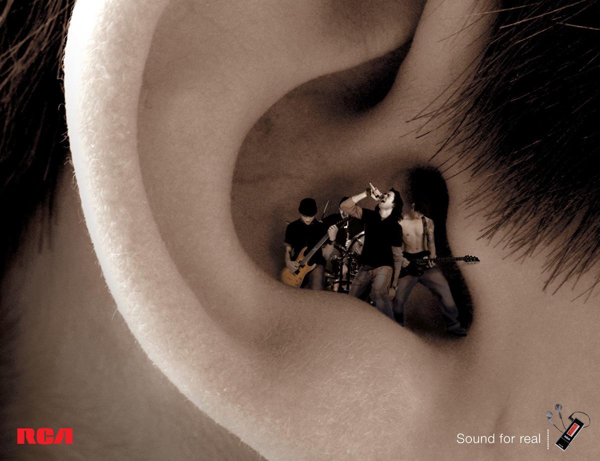 RCA Print Ad -  Music, 1