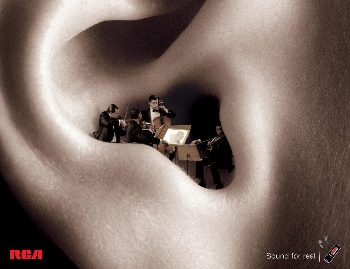 RCA Print Ad -  Music, 3