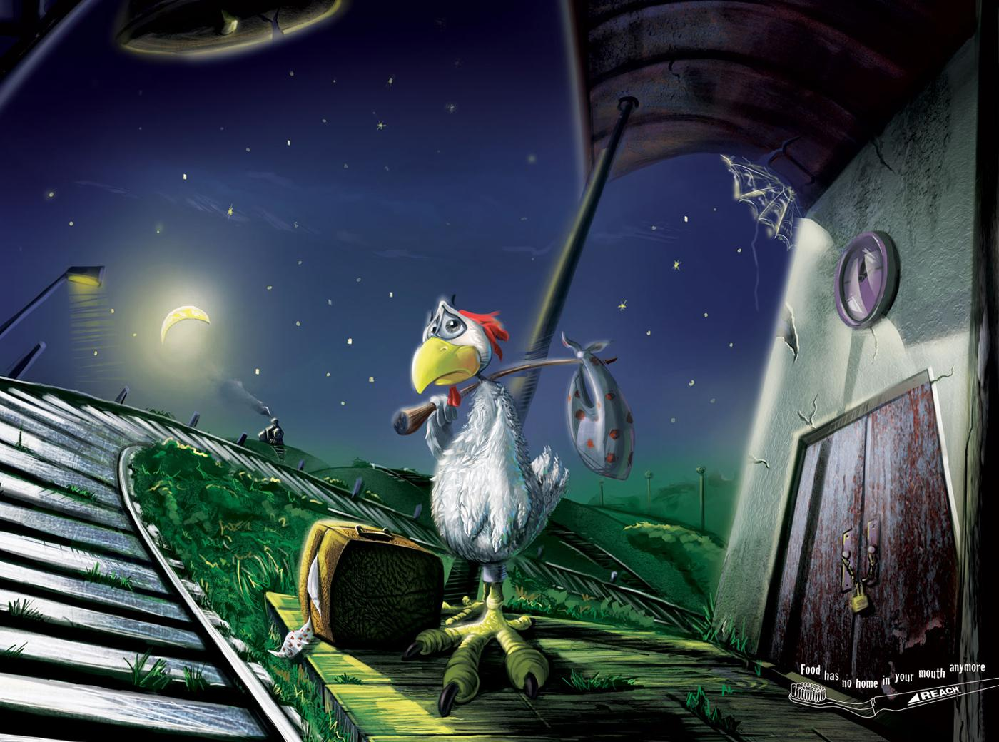 Reach Print Ad -  Chicken