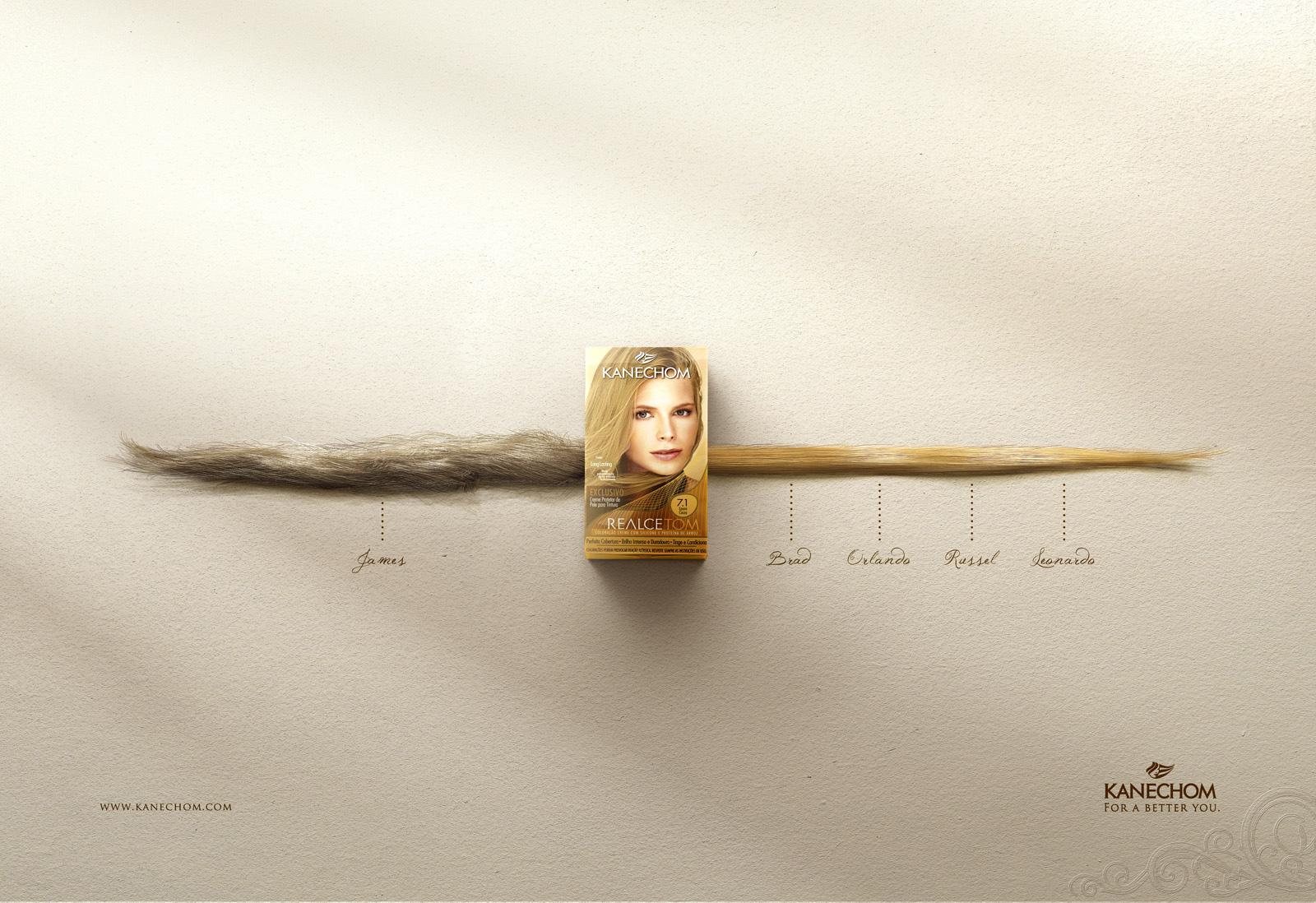 Realcetom Print Ad -  Timeline, Blonde