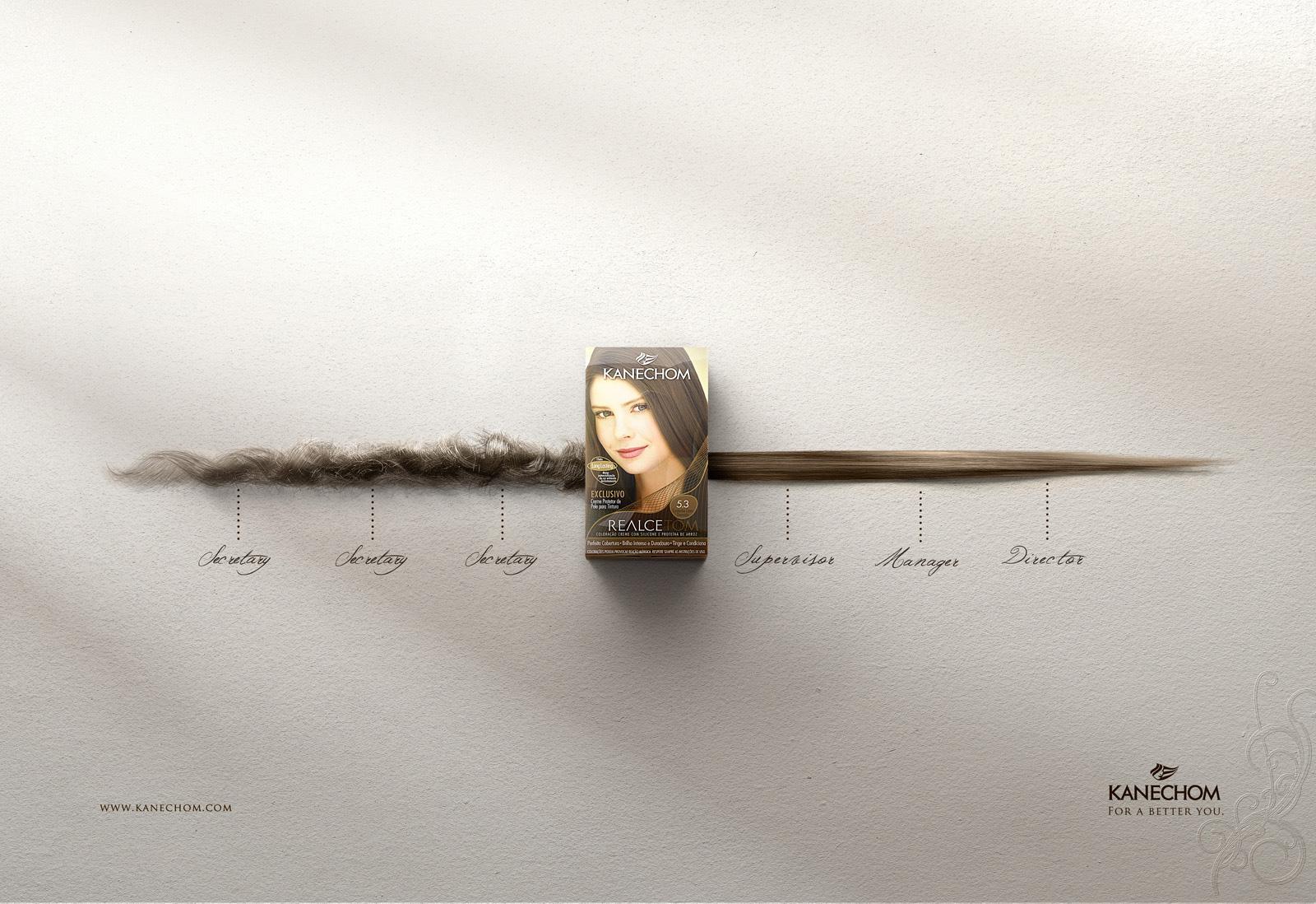 Realcetom Print Ad -  Timeline, Brunette