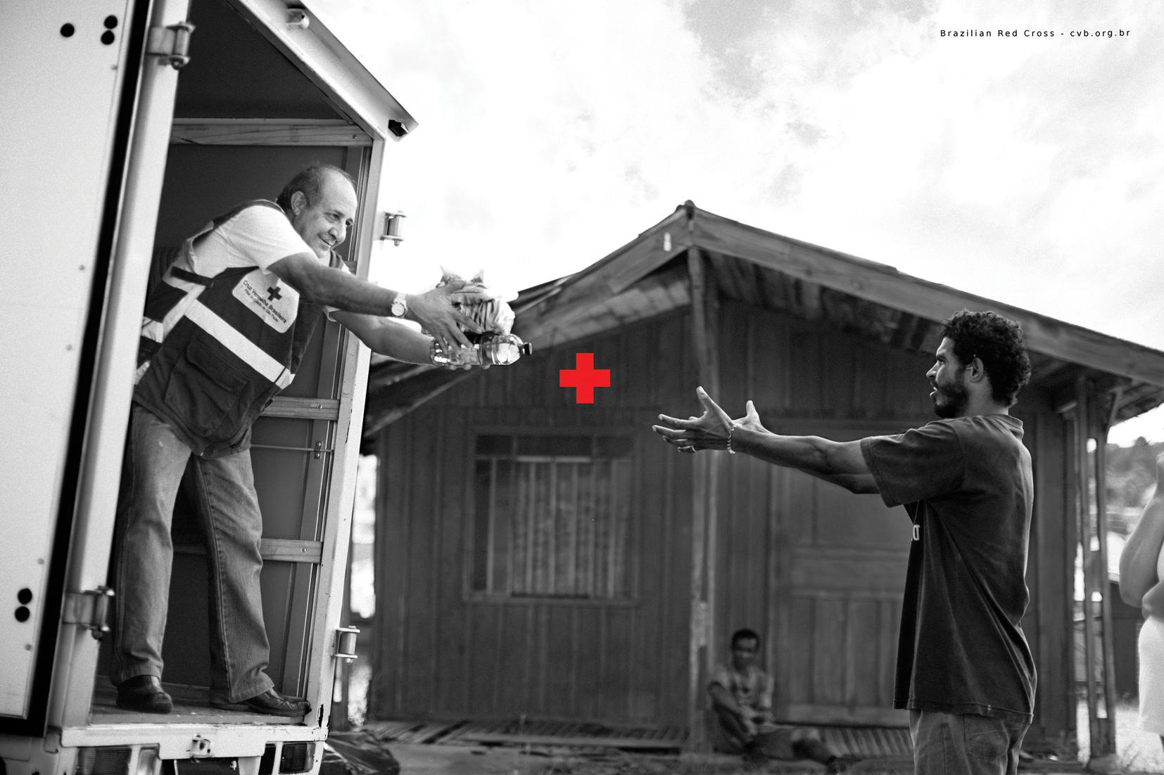 Red Cross Print Ad -  Plus Sign, 3