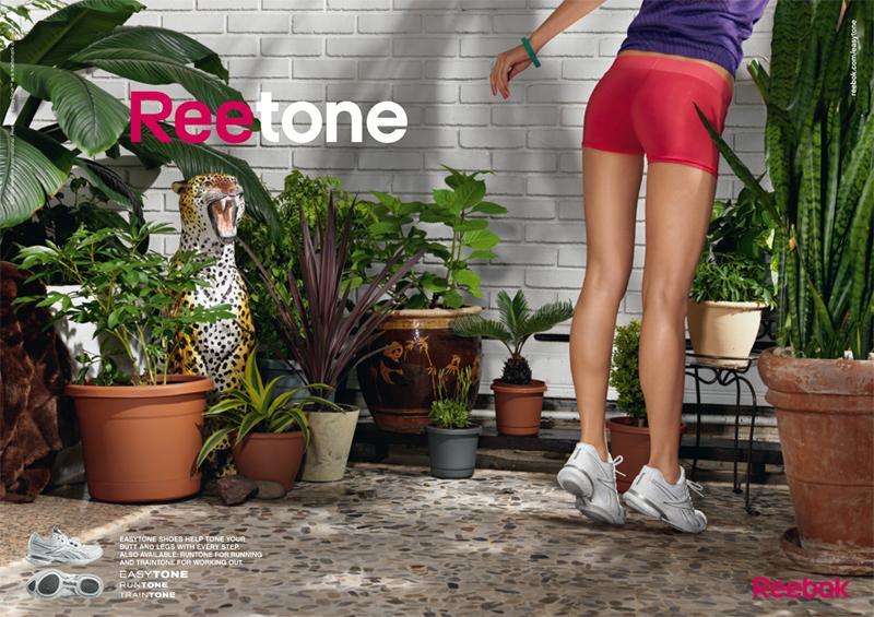 Reebok Print Ad -  Plants