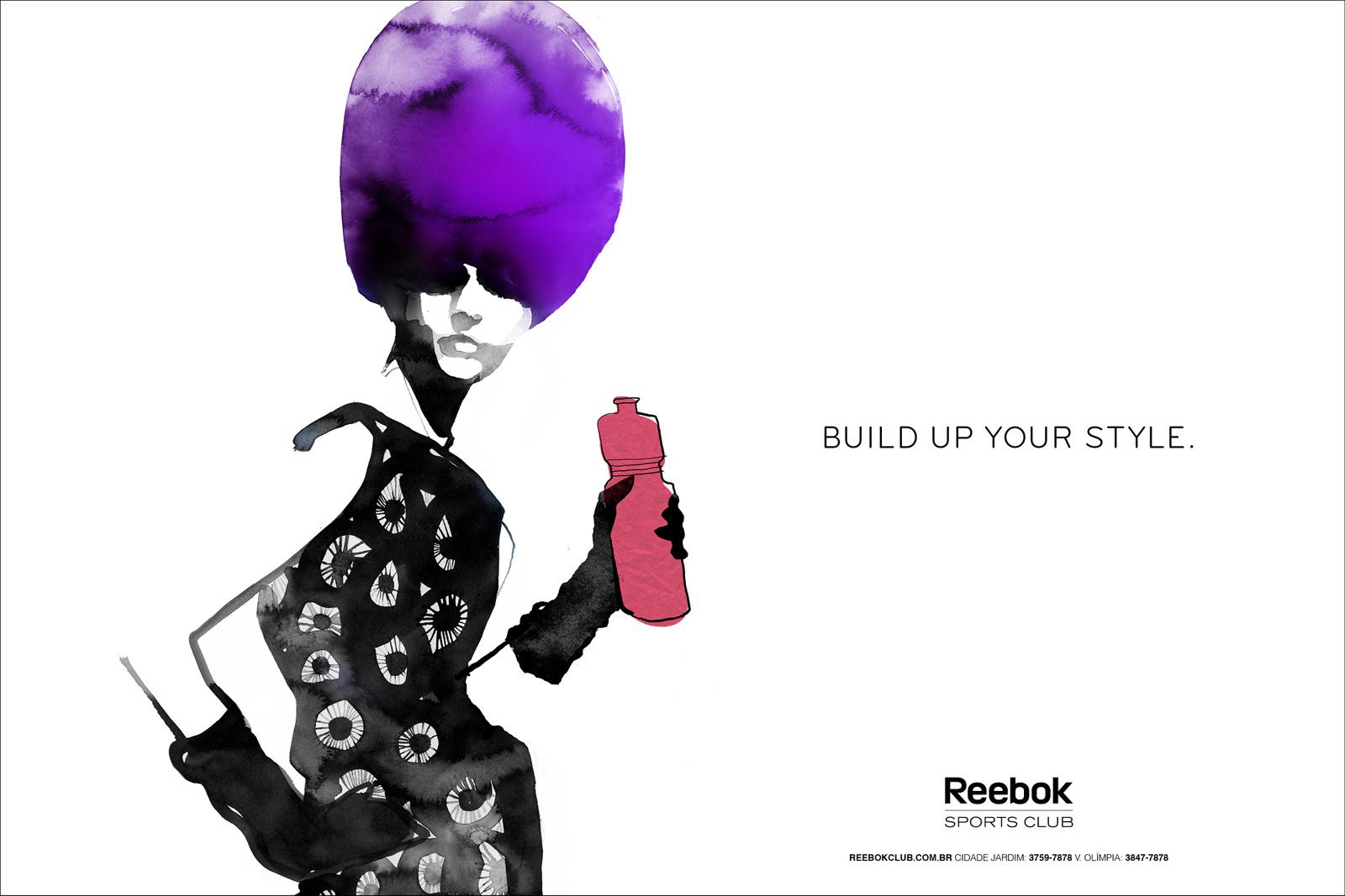 Reebok Print Ad -  Sketches, 1