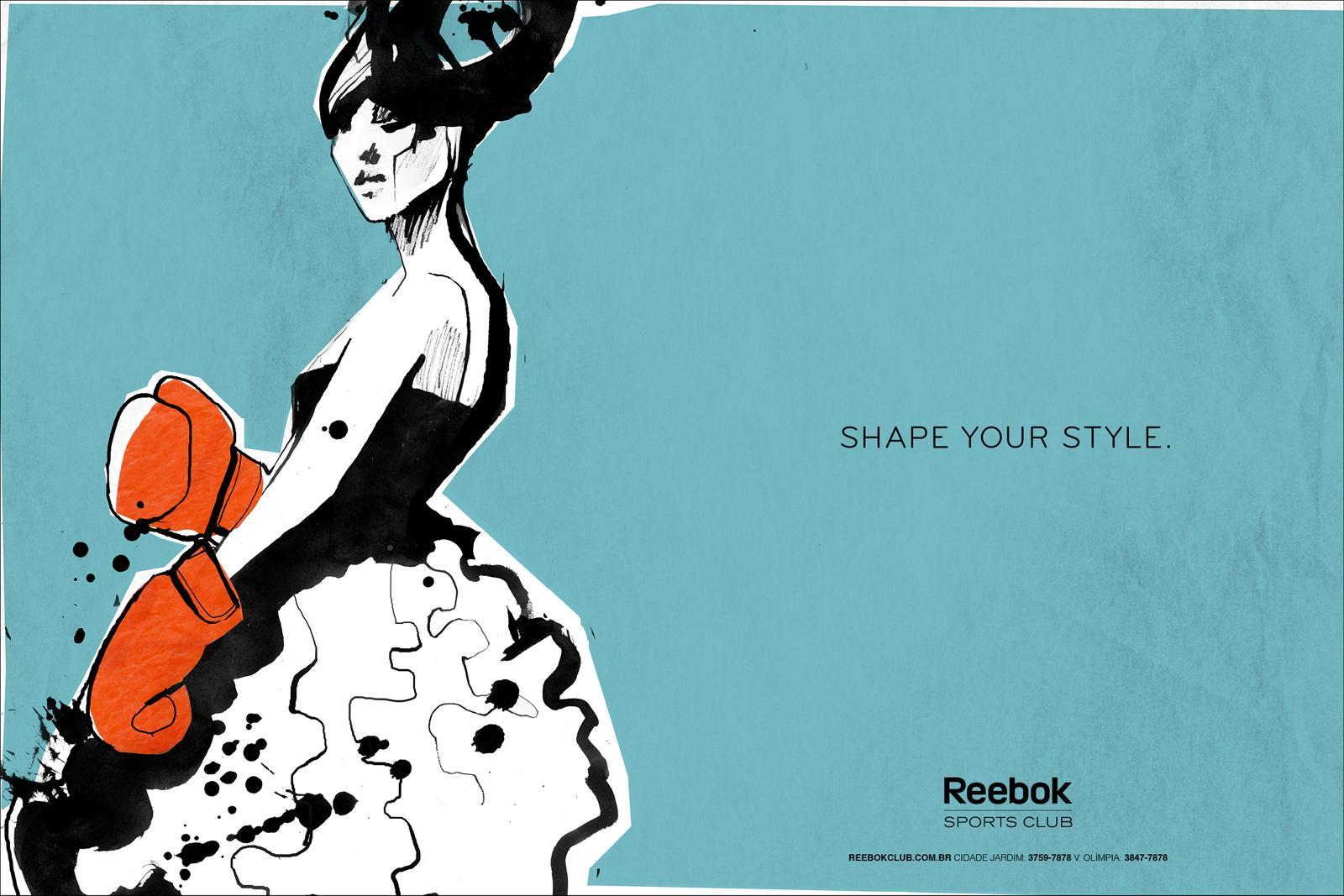 Reebok Print Ad -  Sketches, 4