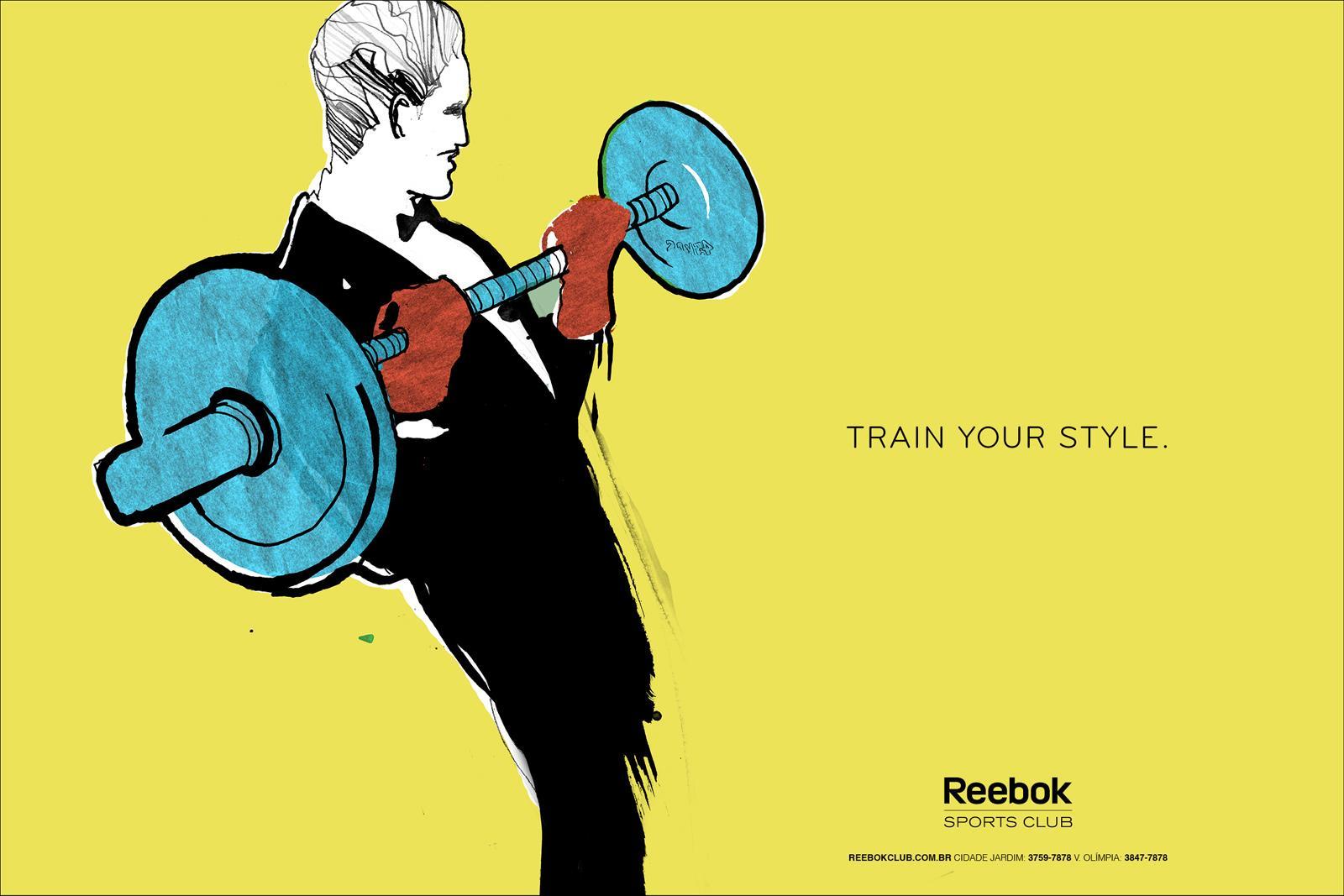 Reebok Print Ad -  Sketches, 5