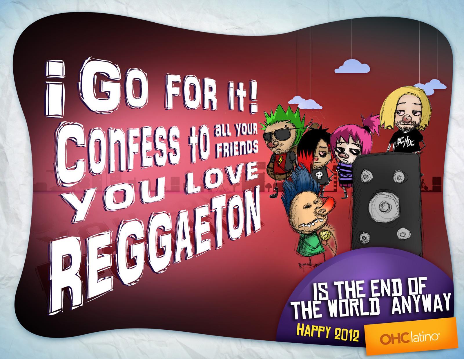 OHC latino Print Ad -  Reggaeton