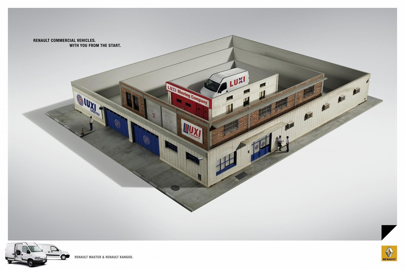 Renault Print Ad -  Boxes, 1