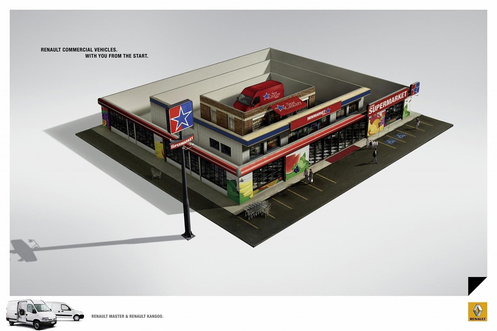 Renault Print Ad -  Boxes, 2