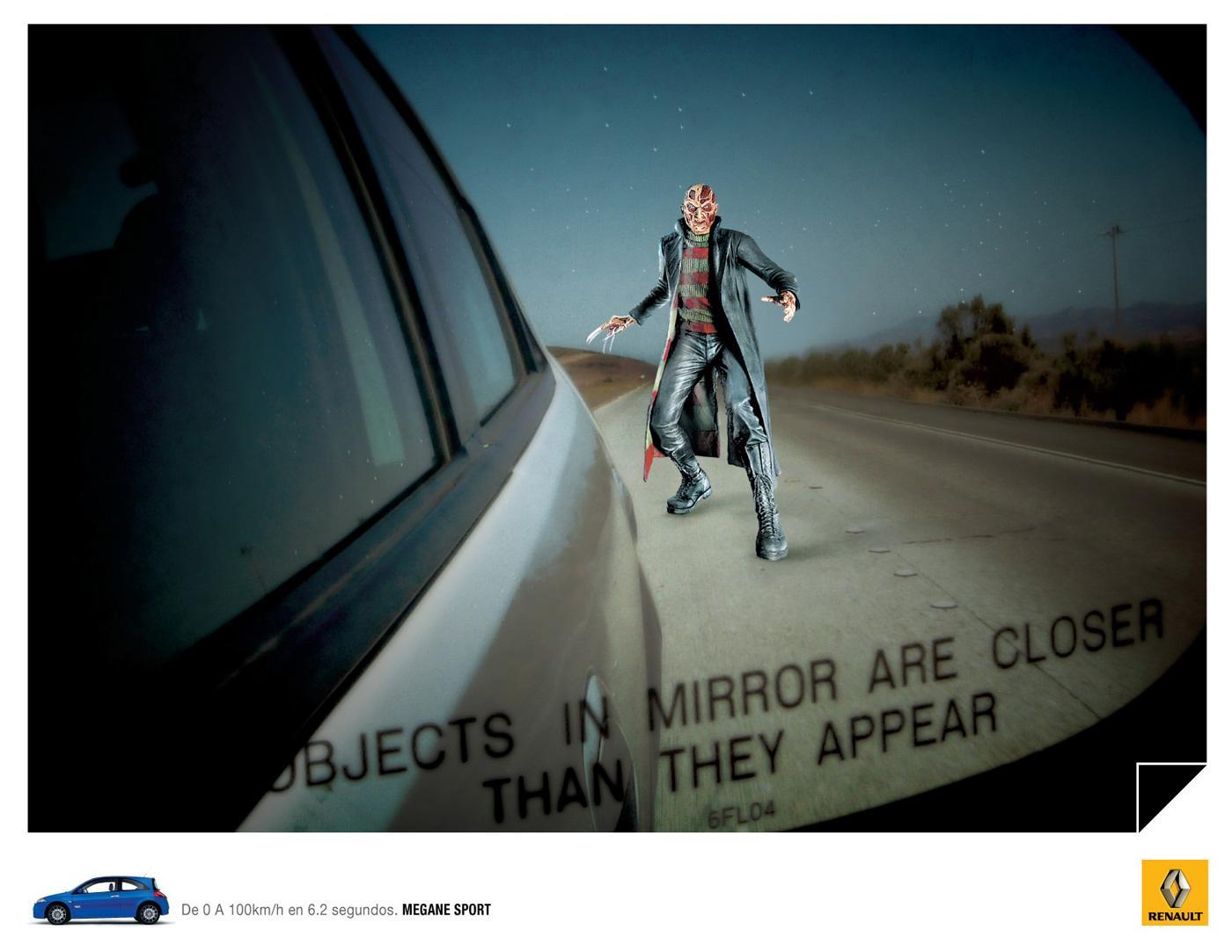 Renault Print Ad -  Freddy