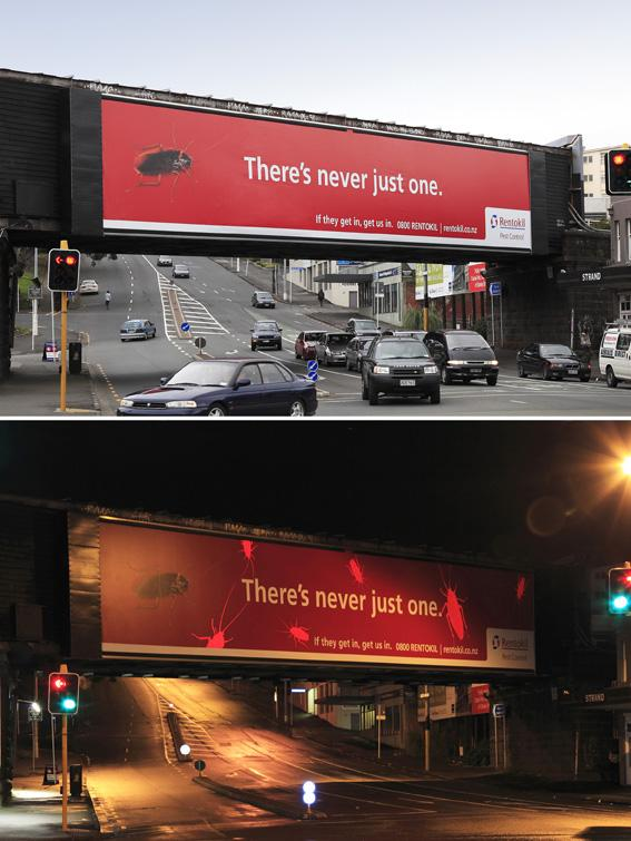 Rentokil Outdoor Ad -  Never just one