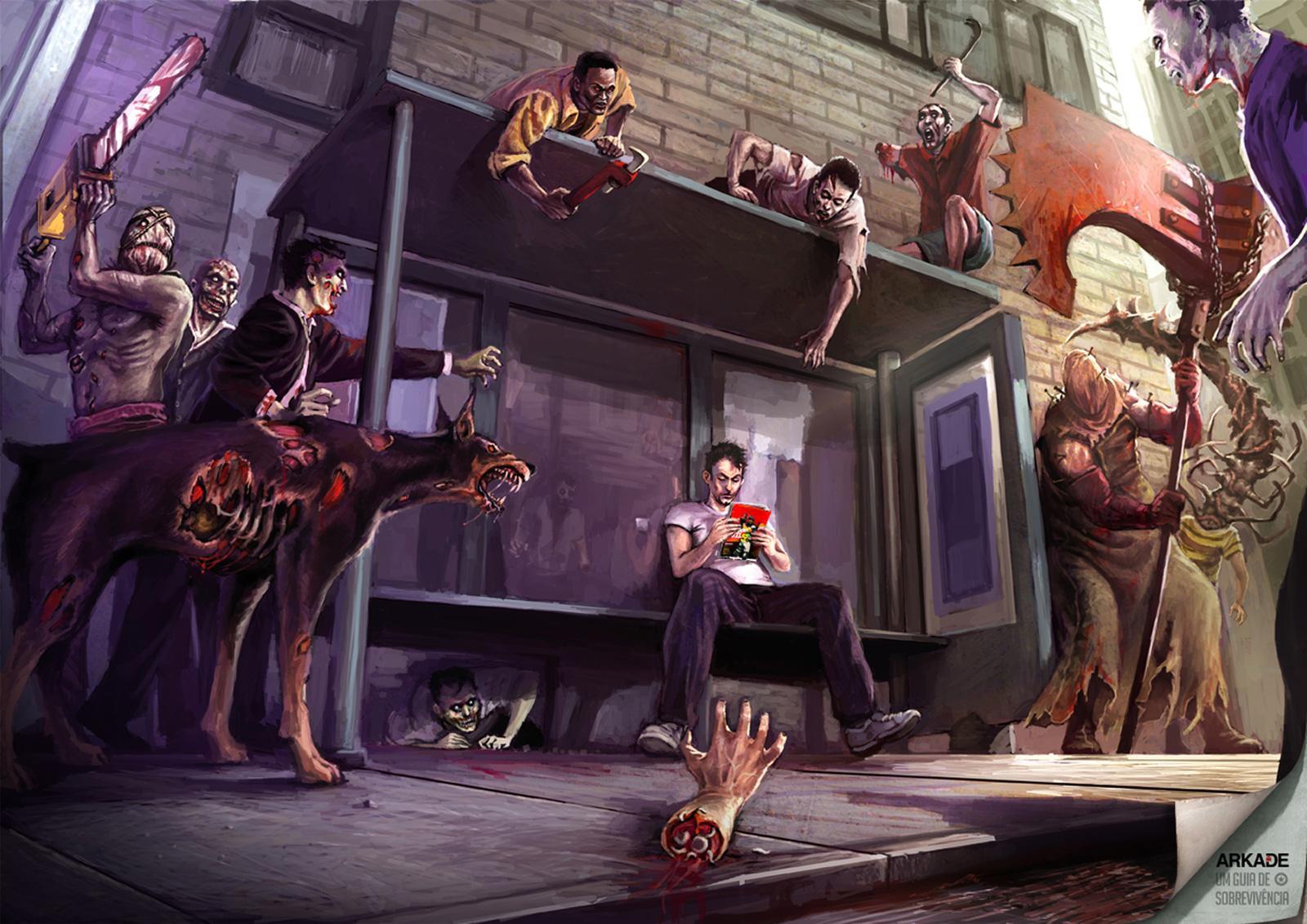 Arkade Print Ad -  Resident Evil