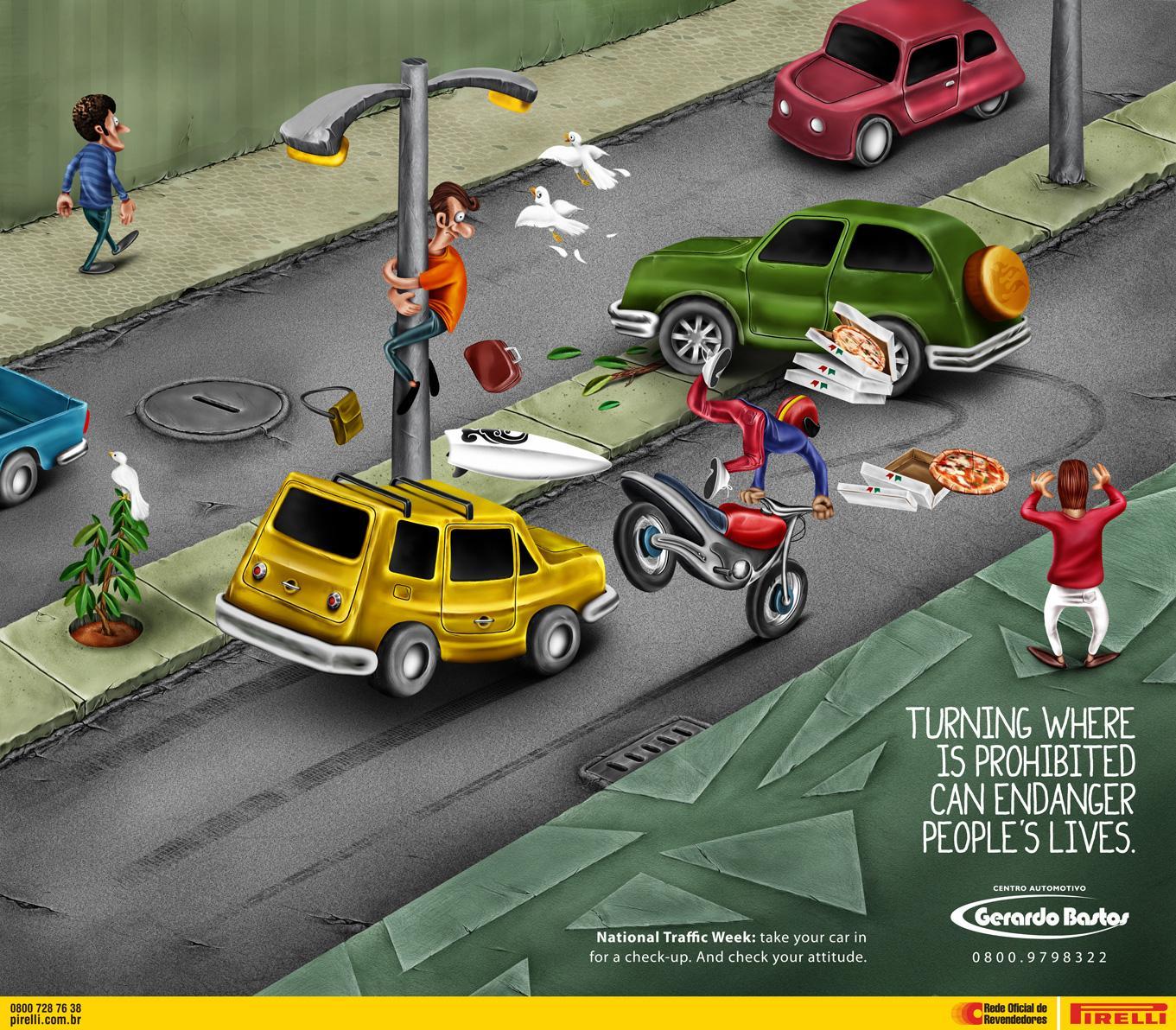 Gerardo Bastos Print Ad -  Turning
