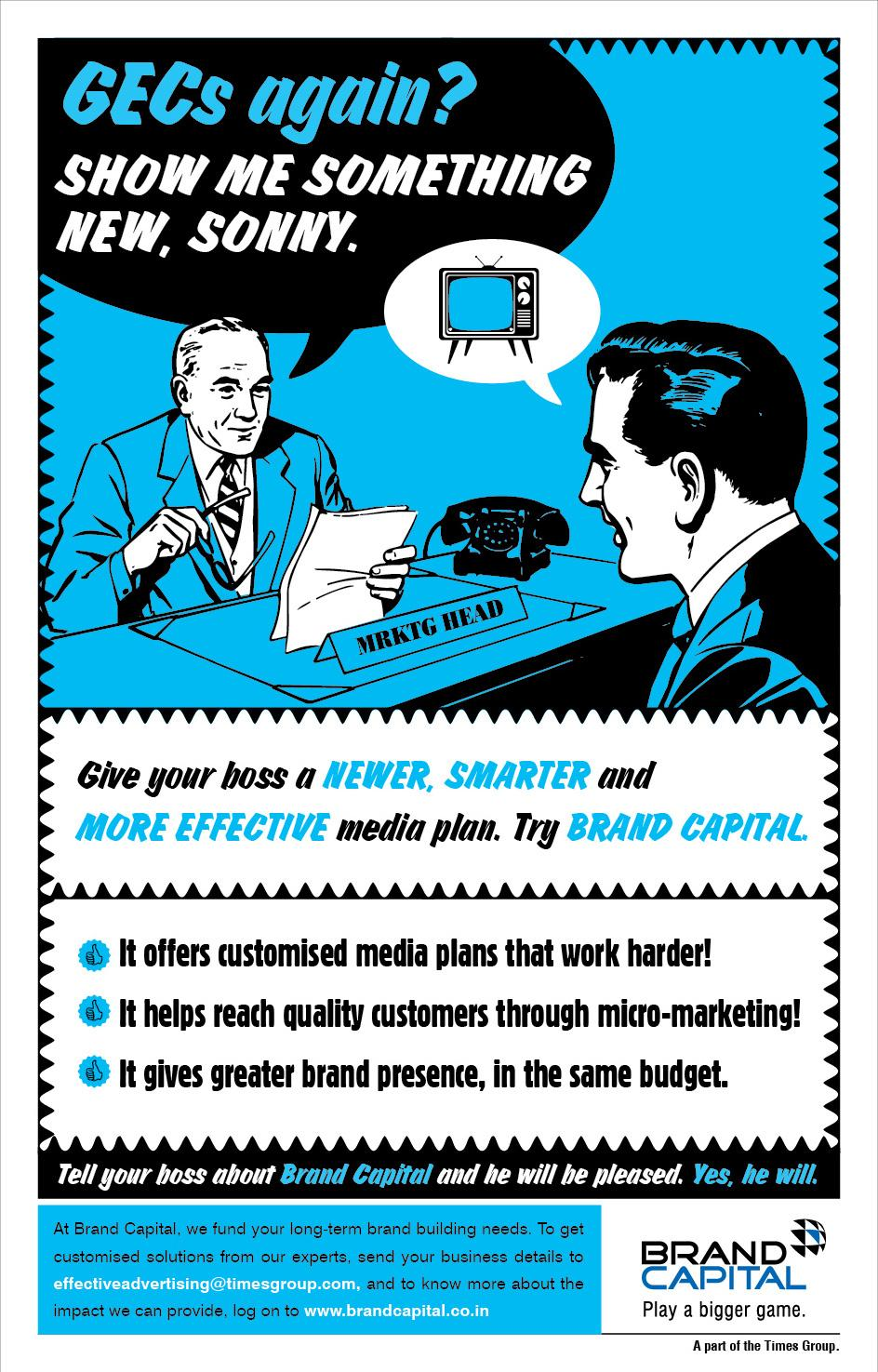 Brand Capital Print Ad -  Retro, 2