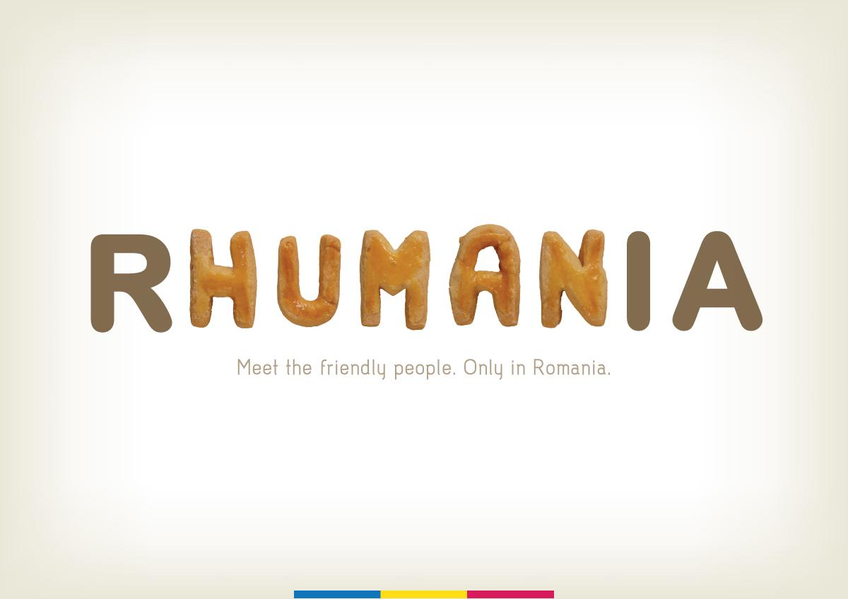 Romania Print Ad -  Rhumania