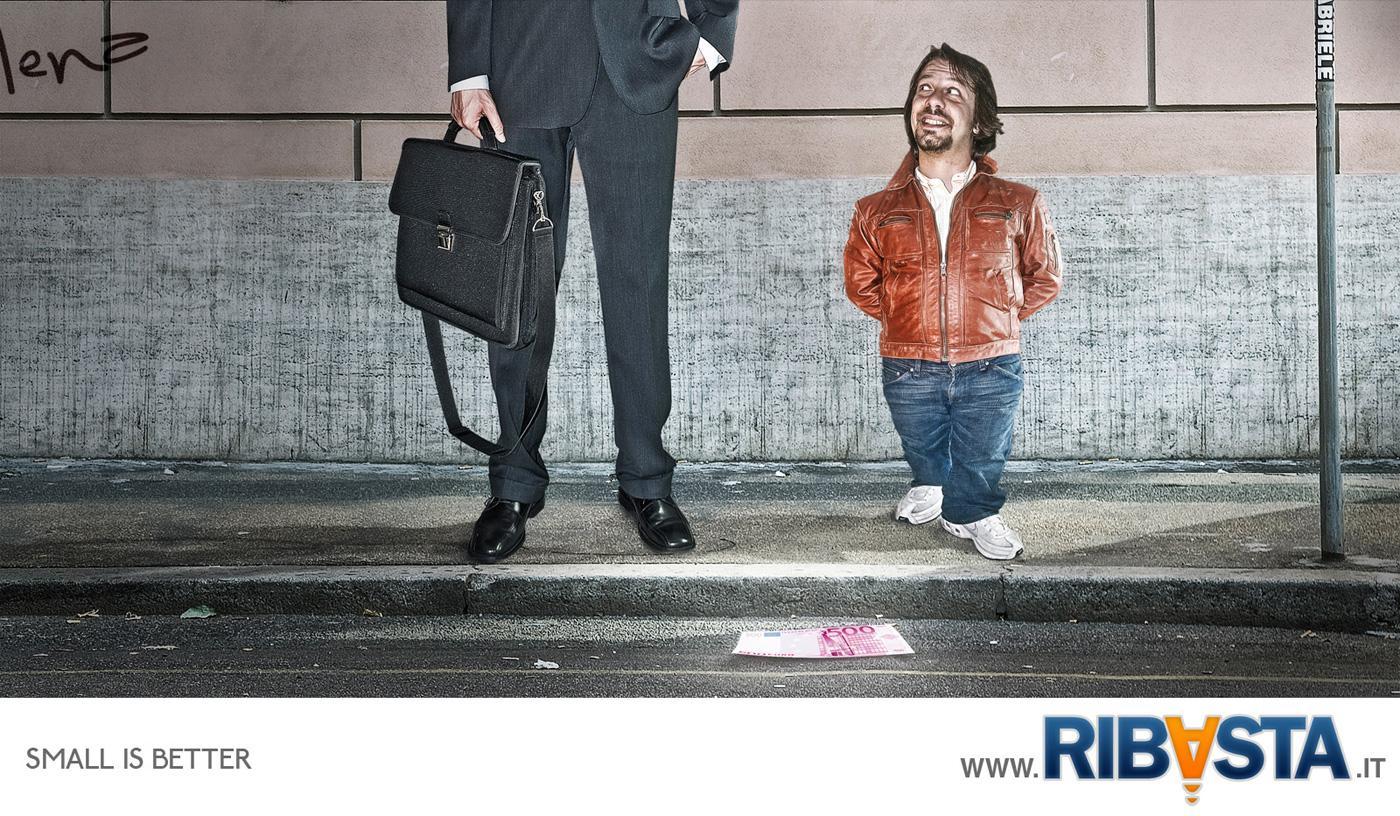 Ribasta Print Ad -  Street