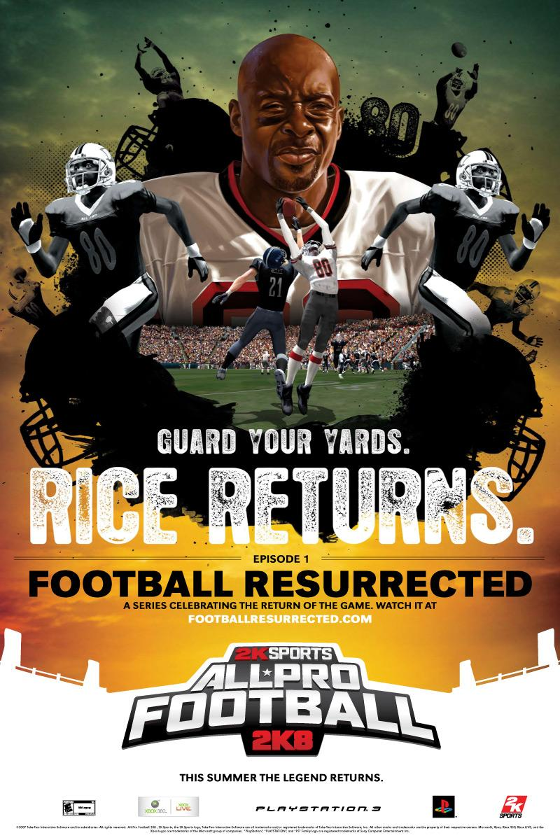 Football Resurrected, Rice