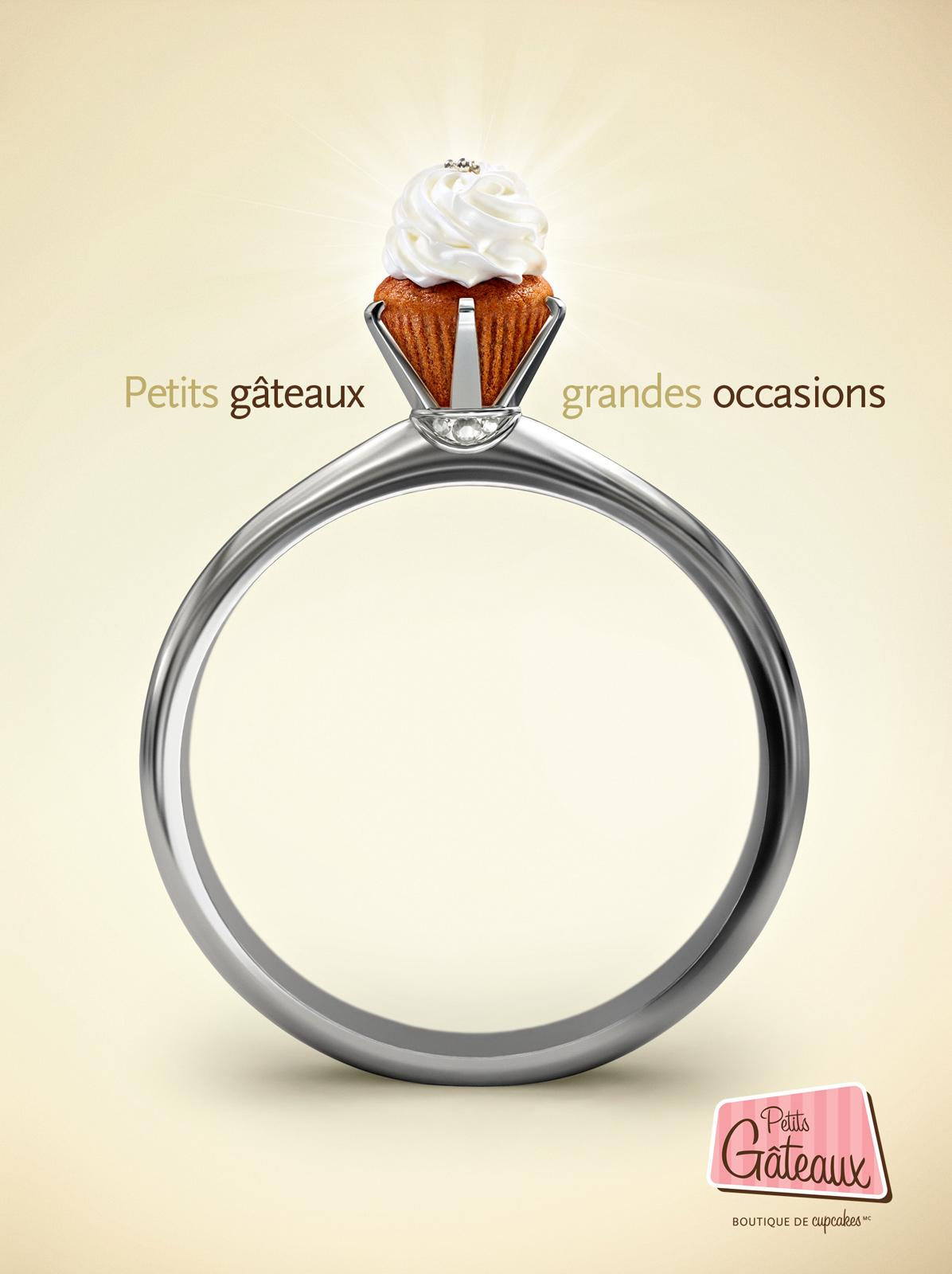 Petits Gâteaux Print Ad -  Ring