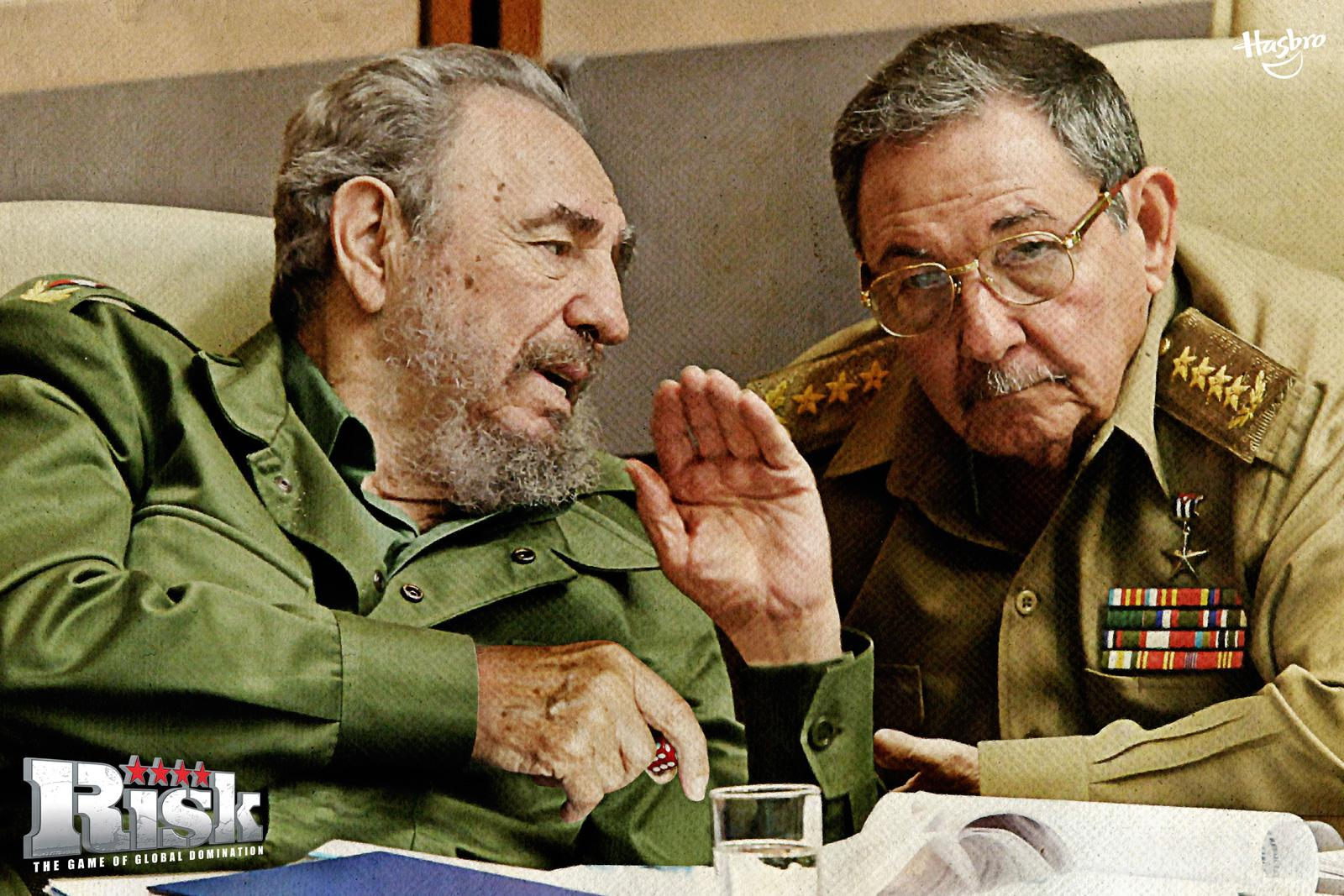 Hasbro Print Ad -  Fidel + Raul