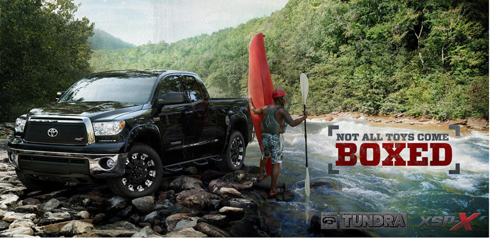 Toyota Outdoor Ad -  Not all toys come boxed
