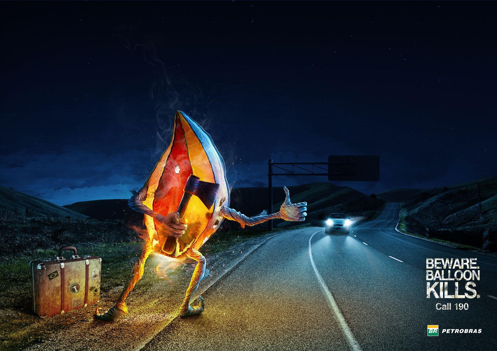 Petrobras Print Ad -  Road